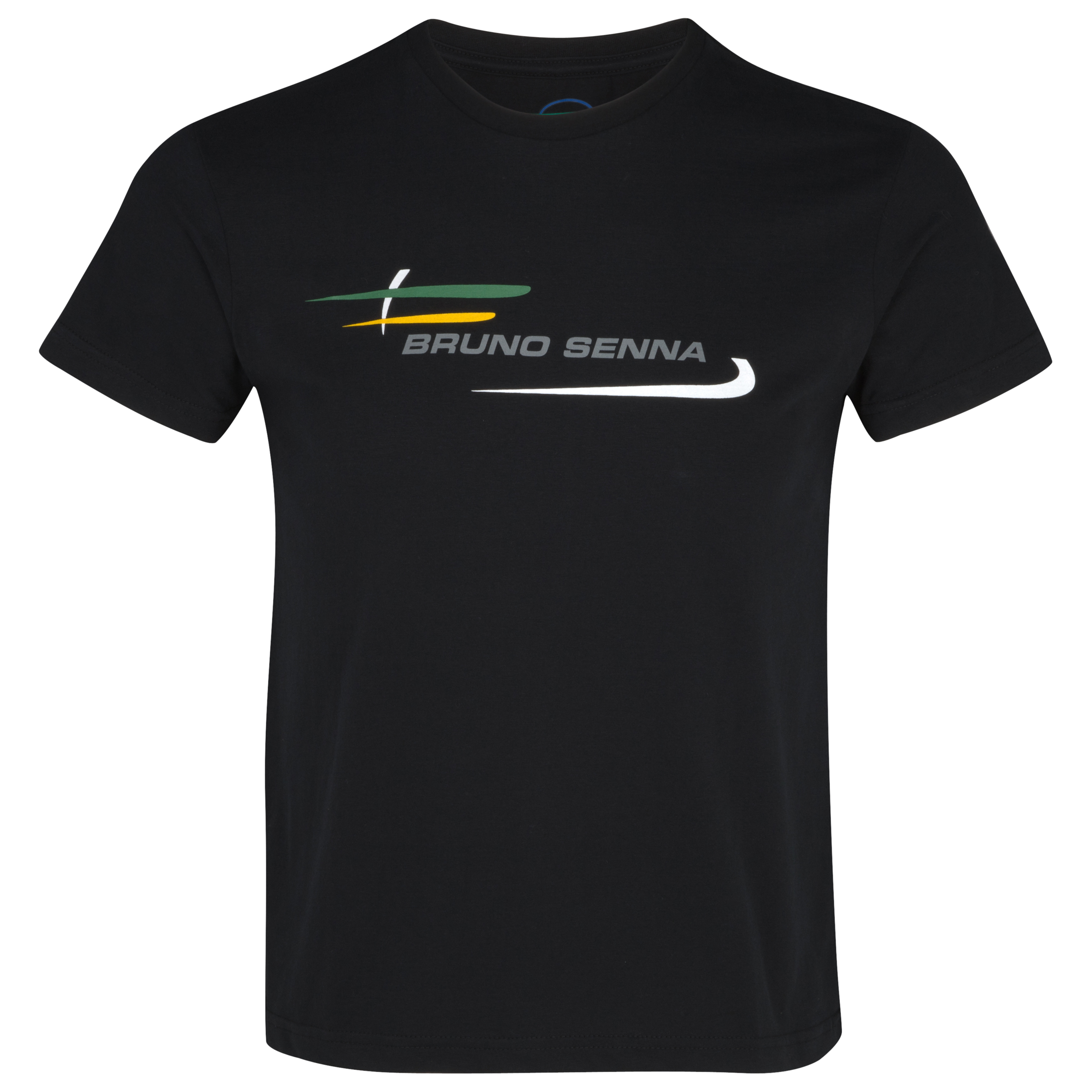 Bruno Senna Logo T-Shirt - Black