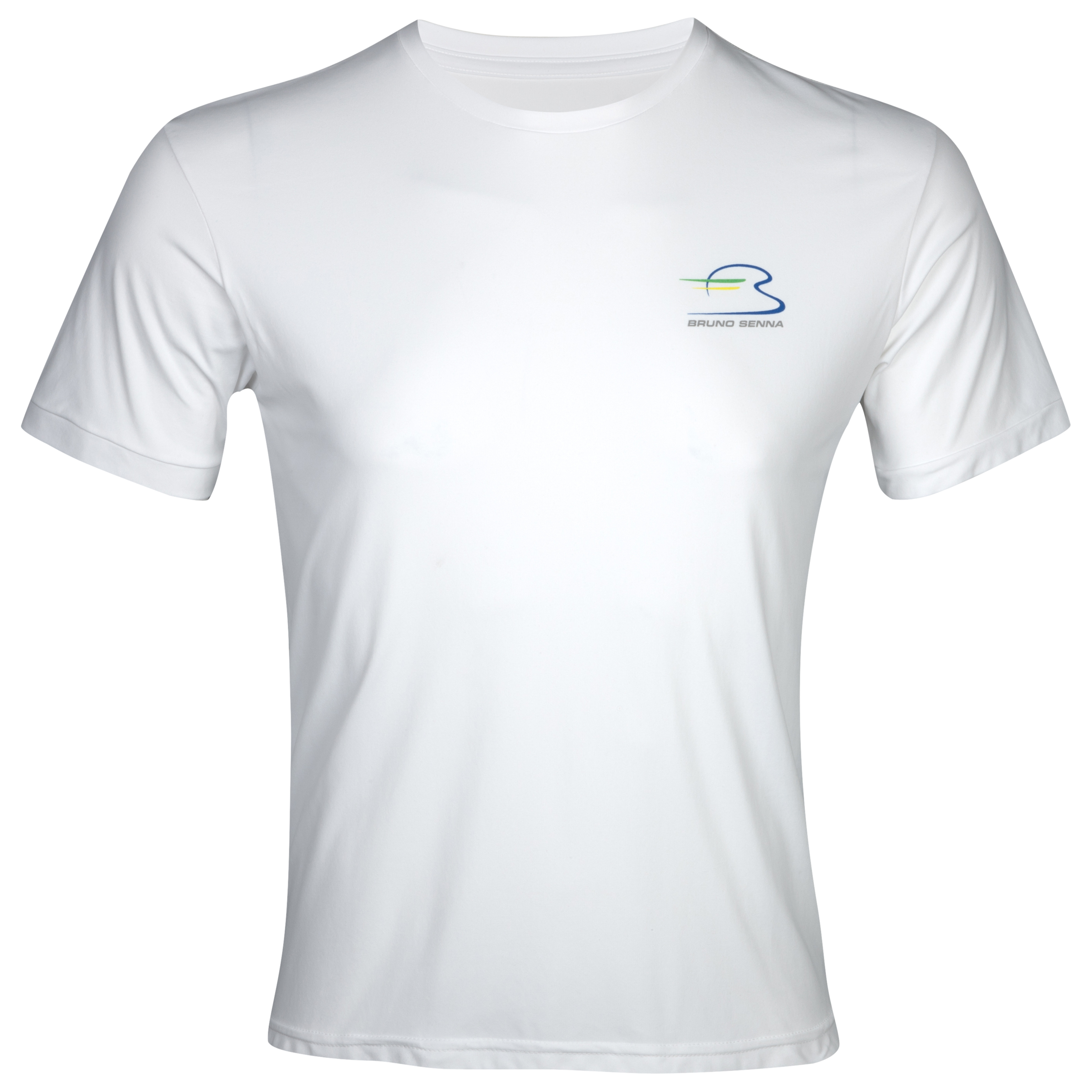 Bruno Senna Dry Fit T-Shirt - White