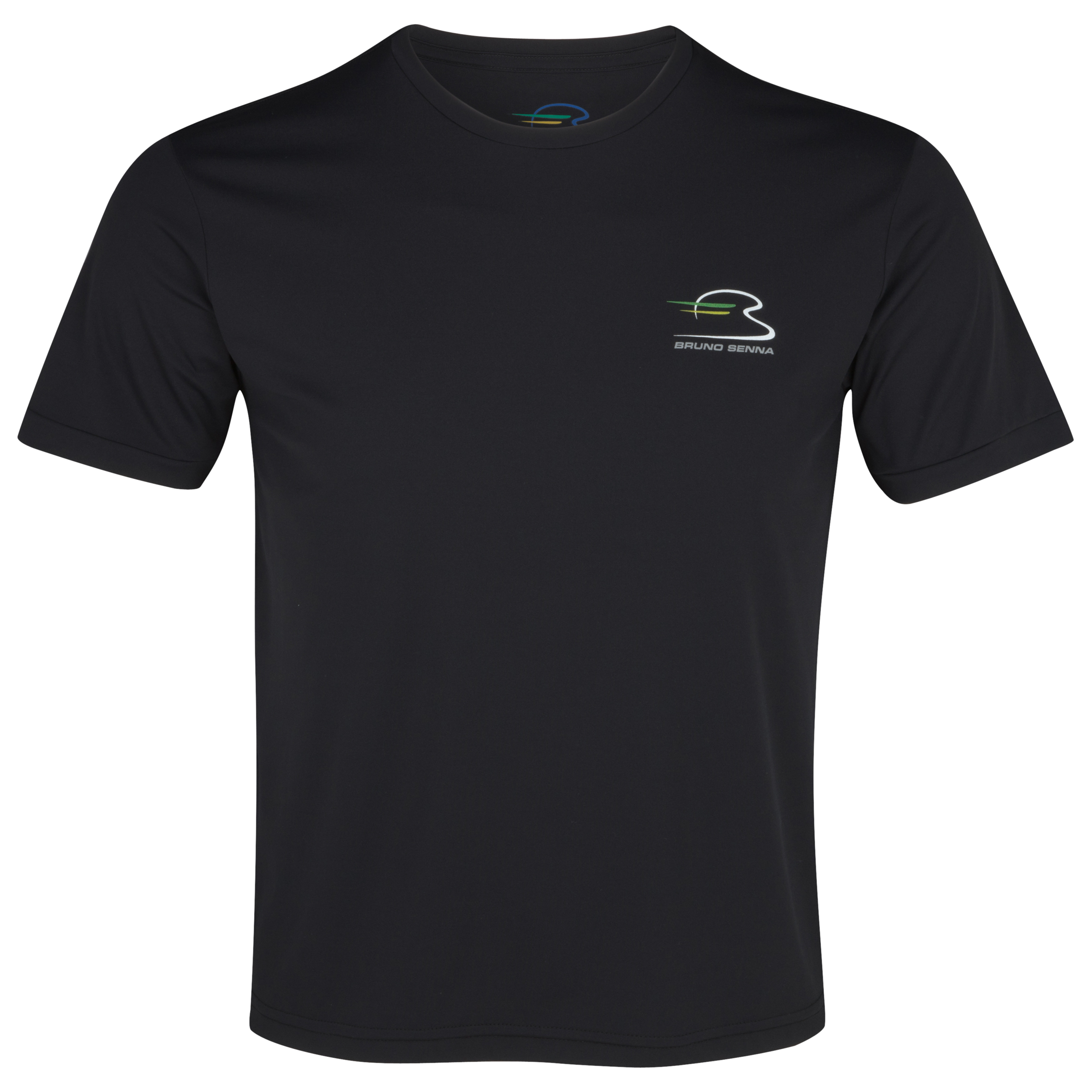 Bruno Senna Dry Fit T-Shirt - Black