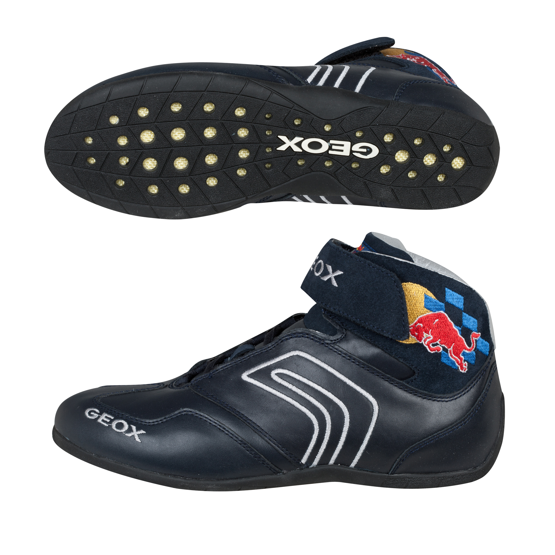 GEOX Red Bull Racing Driver Boot - Navy