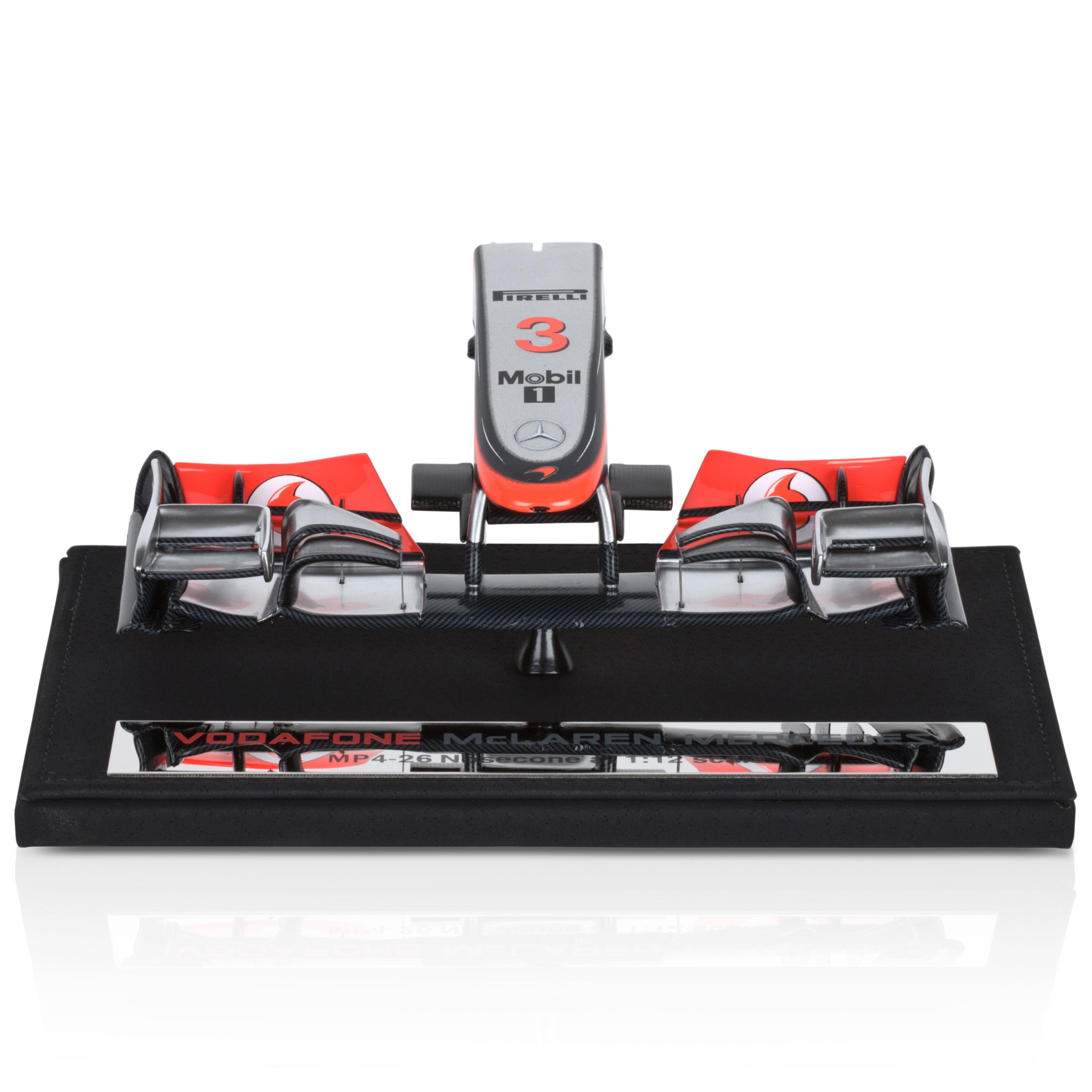 Vodafone McLaren Mercedes MP4-26 Lewis Hamilton 1:12 Scale Nosecone
