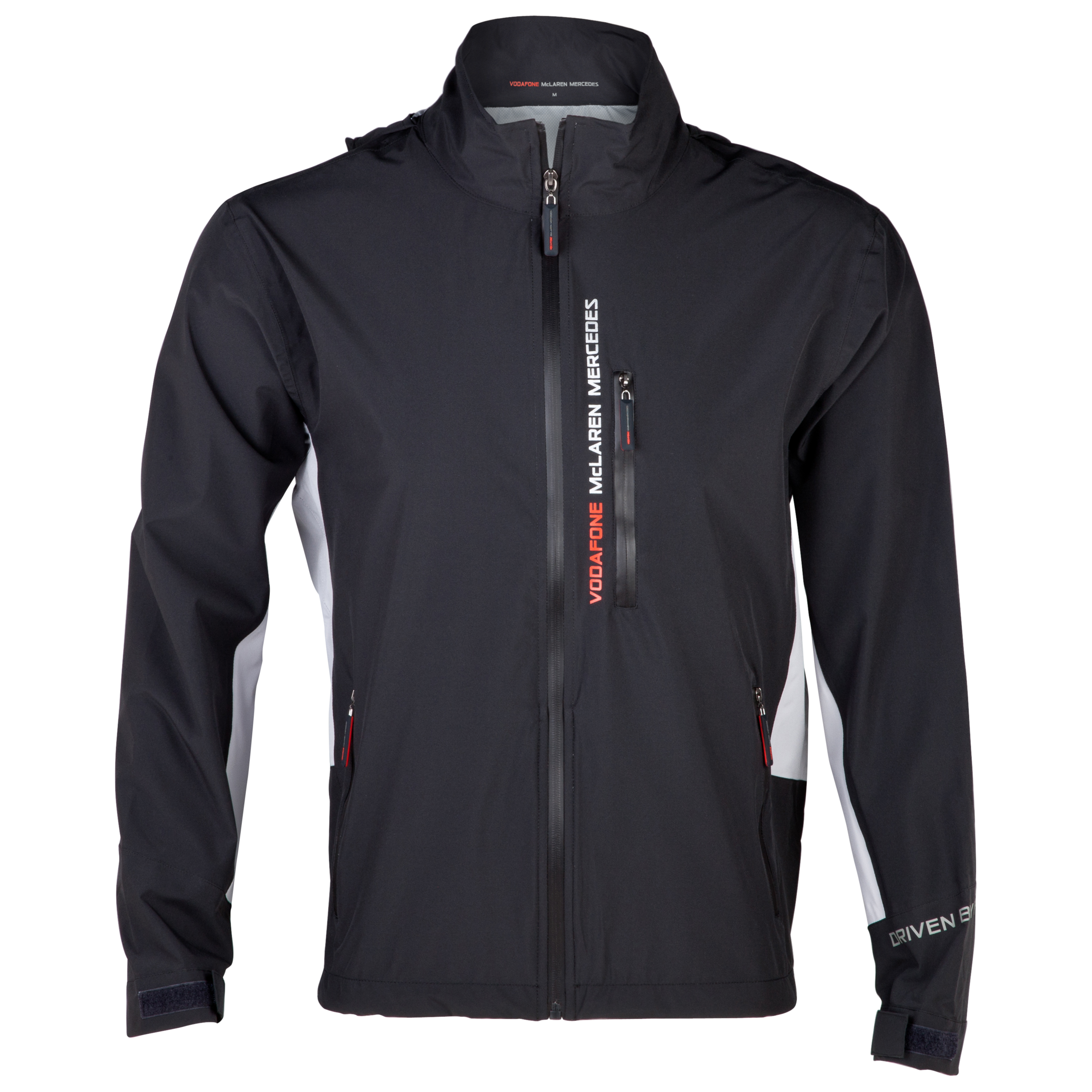 Vodafone McLaren Mercedes Essentials Collection Lightweight Waterproof Jacket
