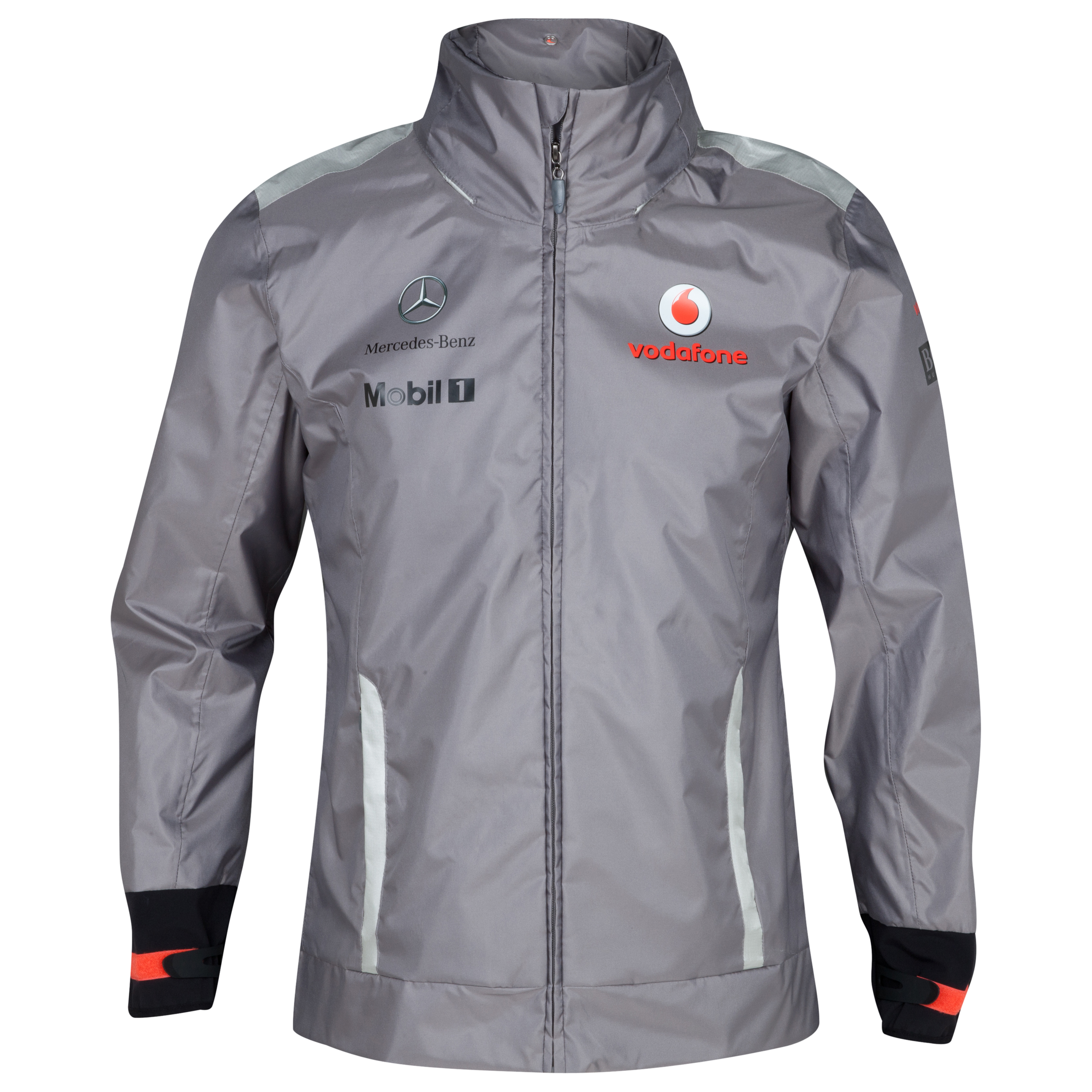 Vodafone McLaren Mercedes 2012 Team Waterproof Jacket