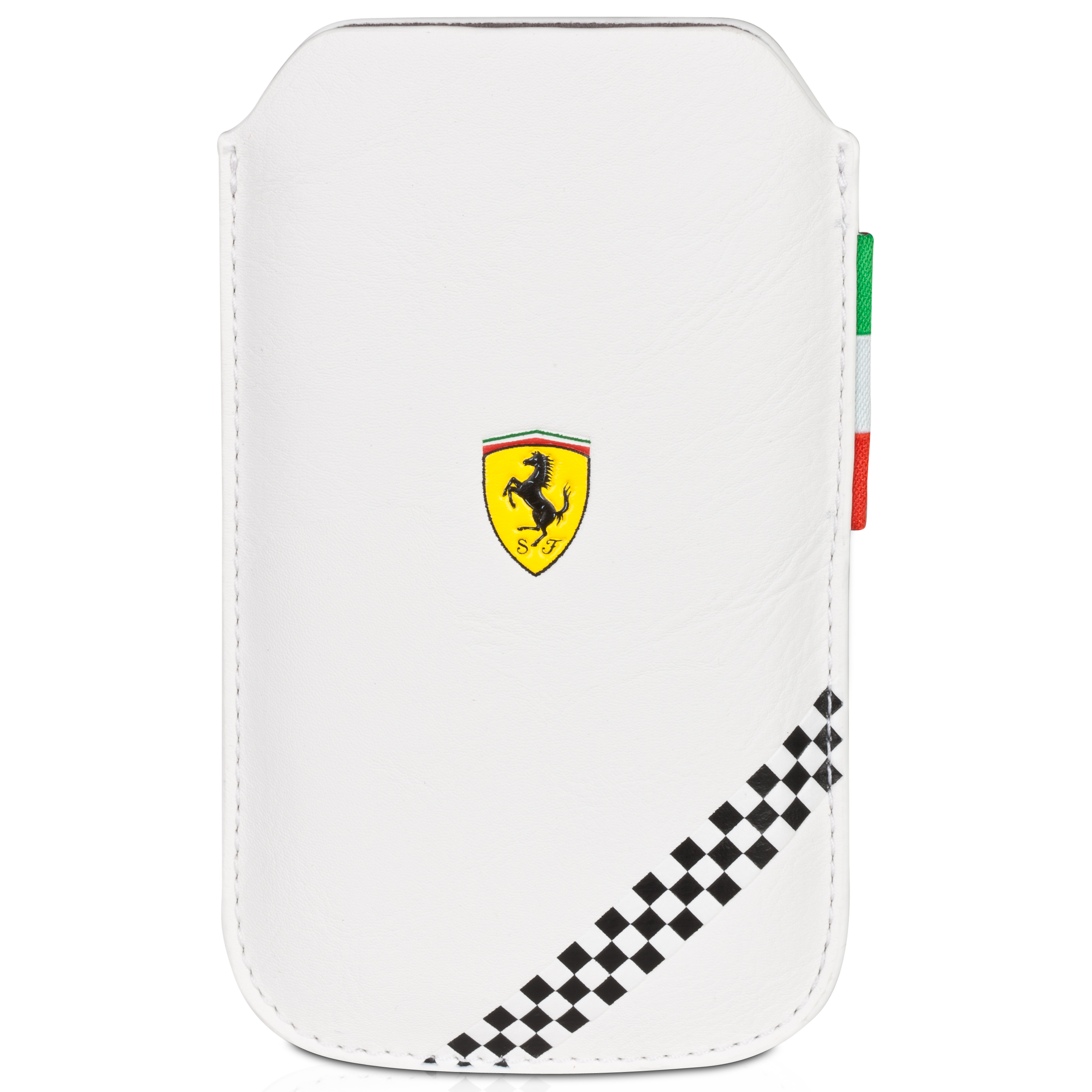 Scuderia Ferrari F1 Medium Phone Sleeve - White