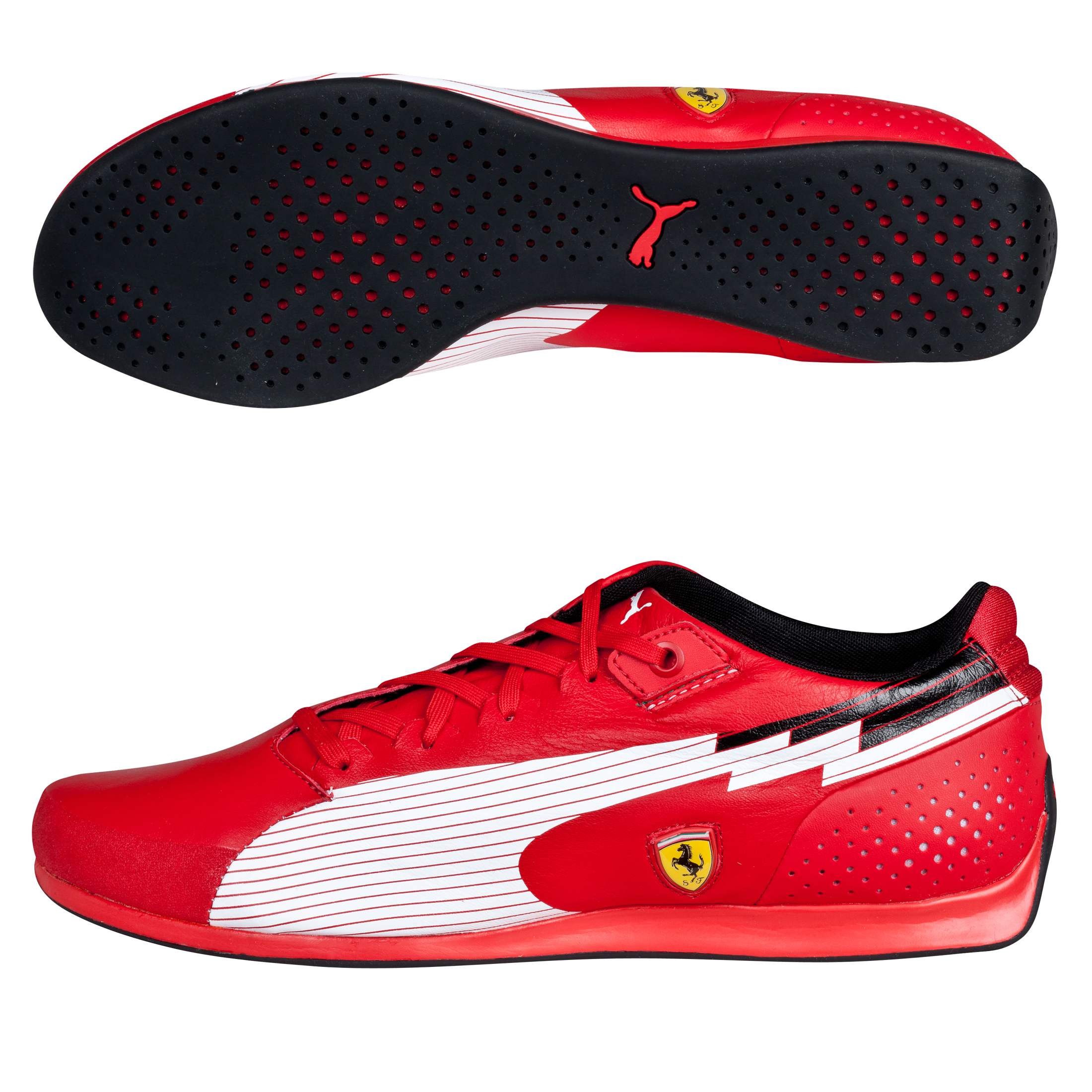 Scuderia Ferrari EvoSpeed Lo - Rosso Corsa/White