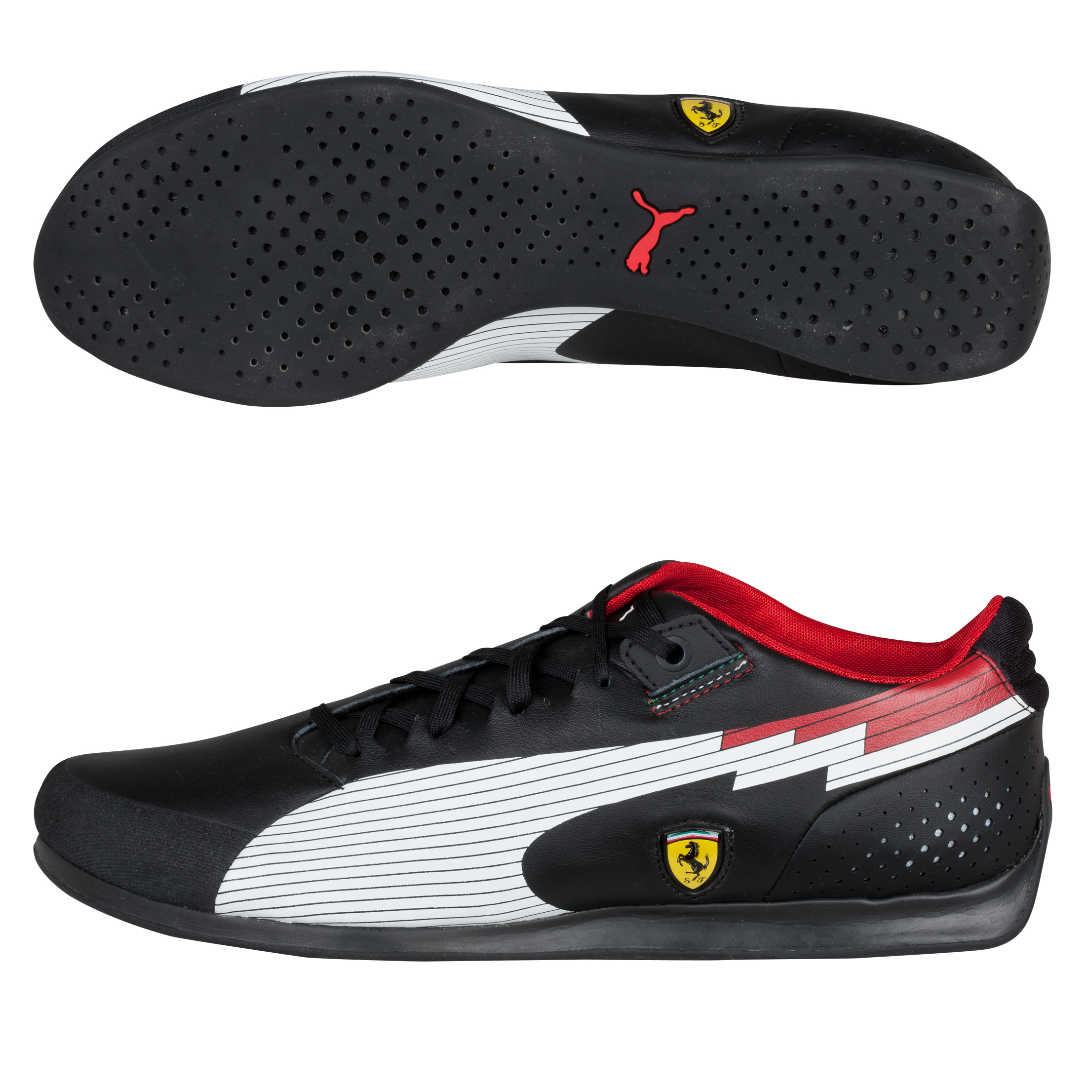 Scuderia Ferrari EvoSpeed Lo - Black/White