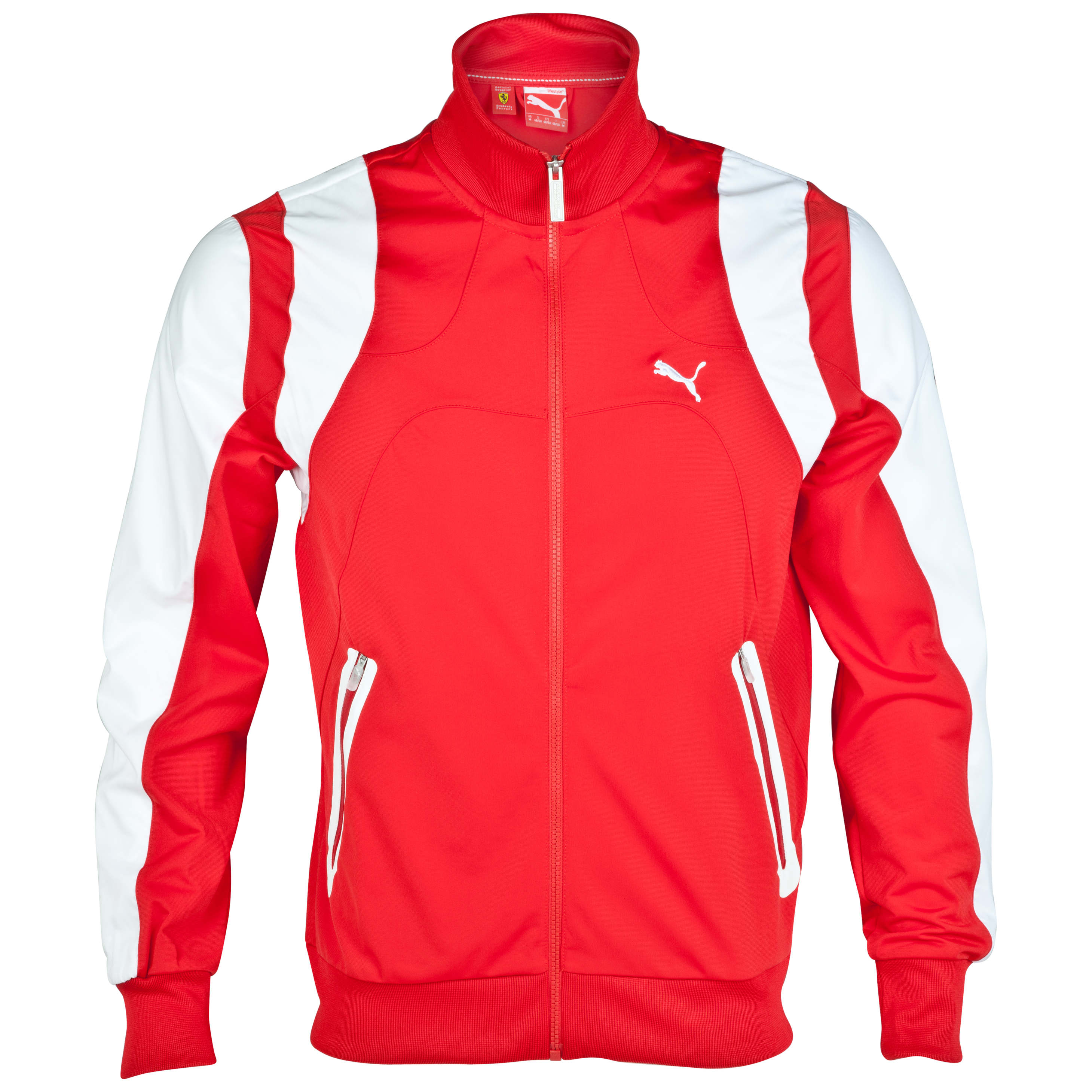 Scuderia Ferrari Track Jacket - Rosso Corsa