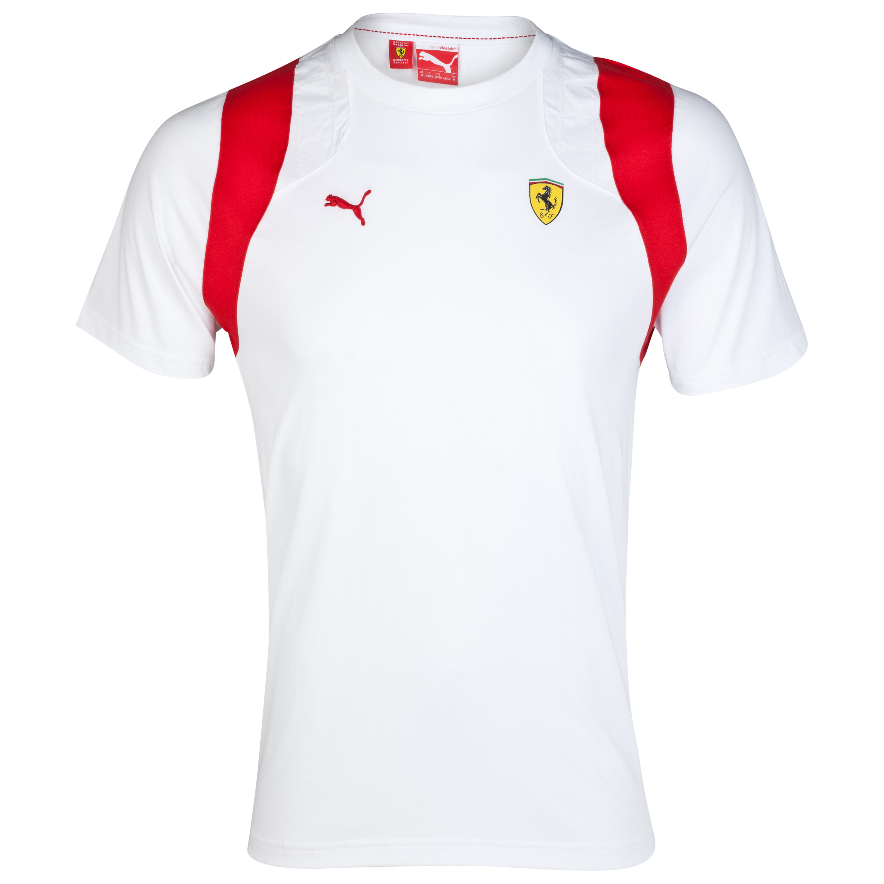 Scuderia Ferrari T-Shirt - White