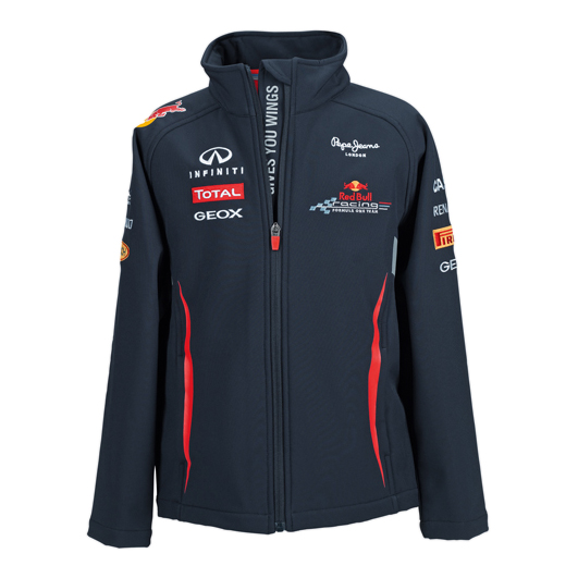 Red Bull Racing Official Team Softshell Jacket - Kids