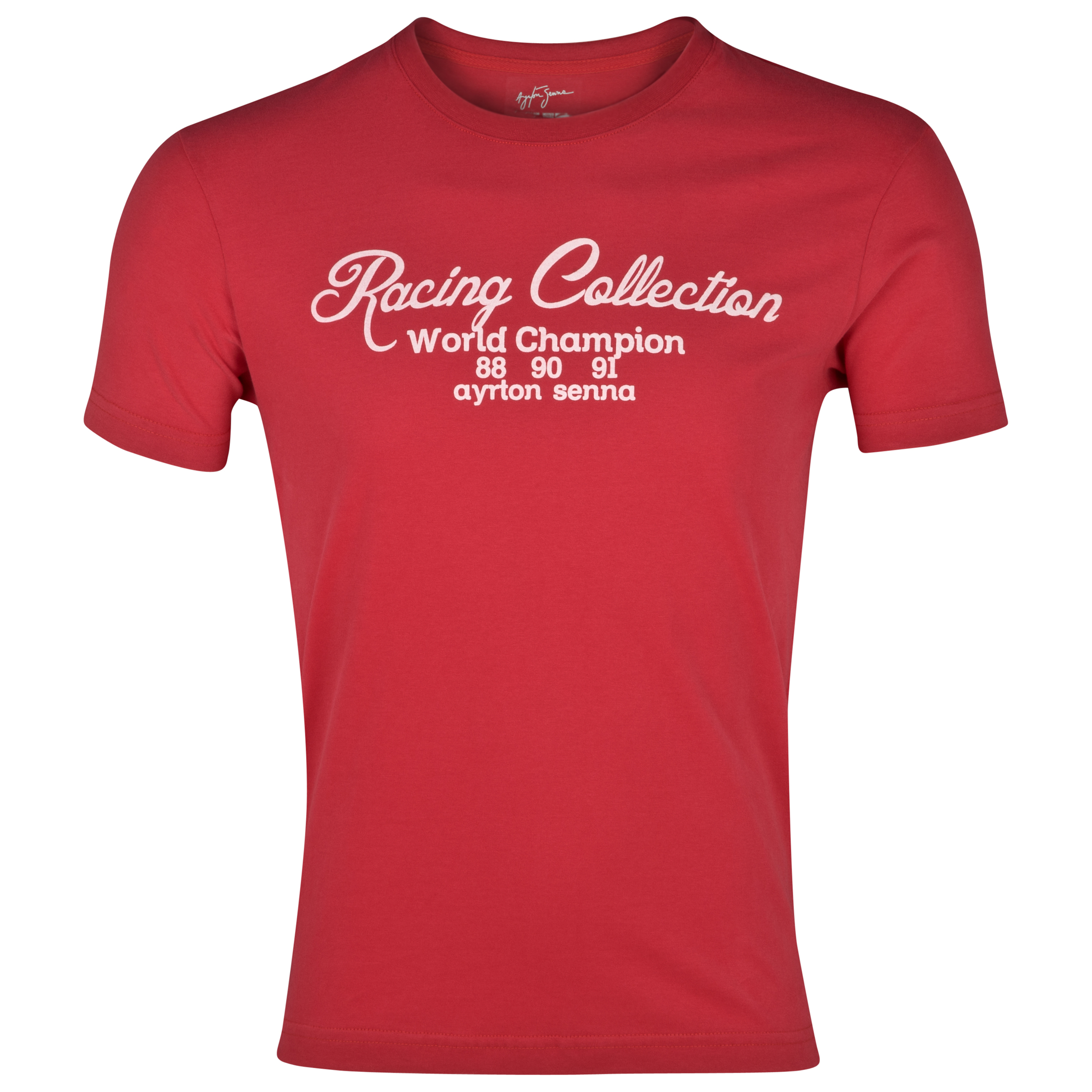 Ayrton Senna Racing Collection T-Shirt  - Red
