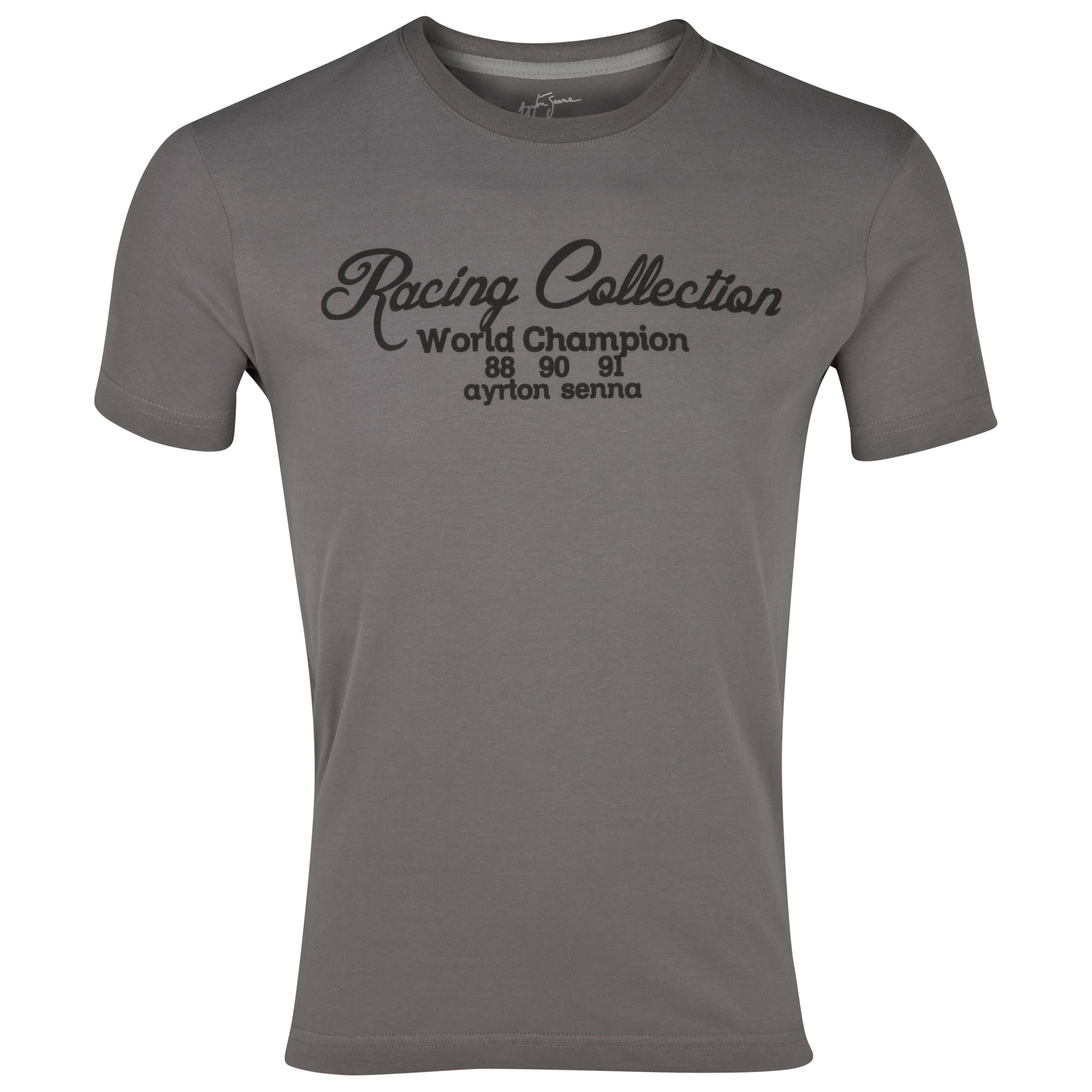 Ayrton Senna Racing Collection T-Shirt  - Grey