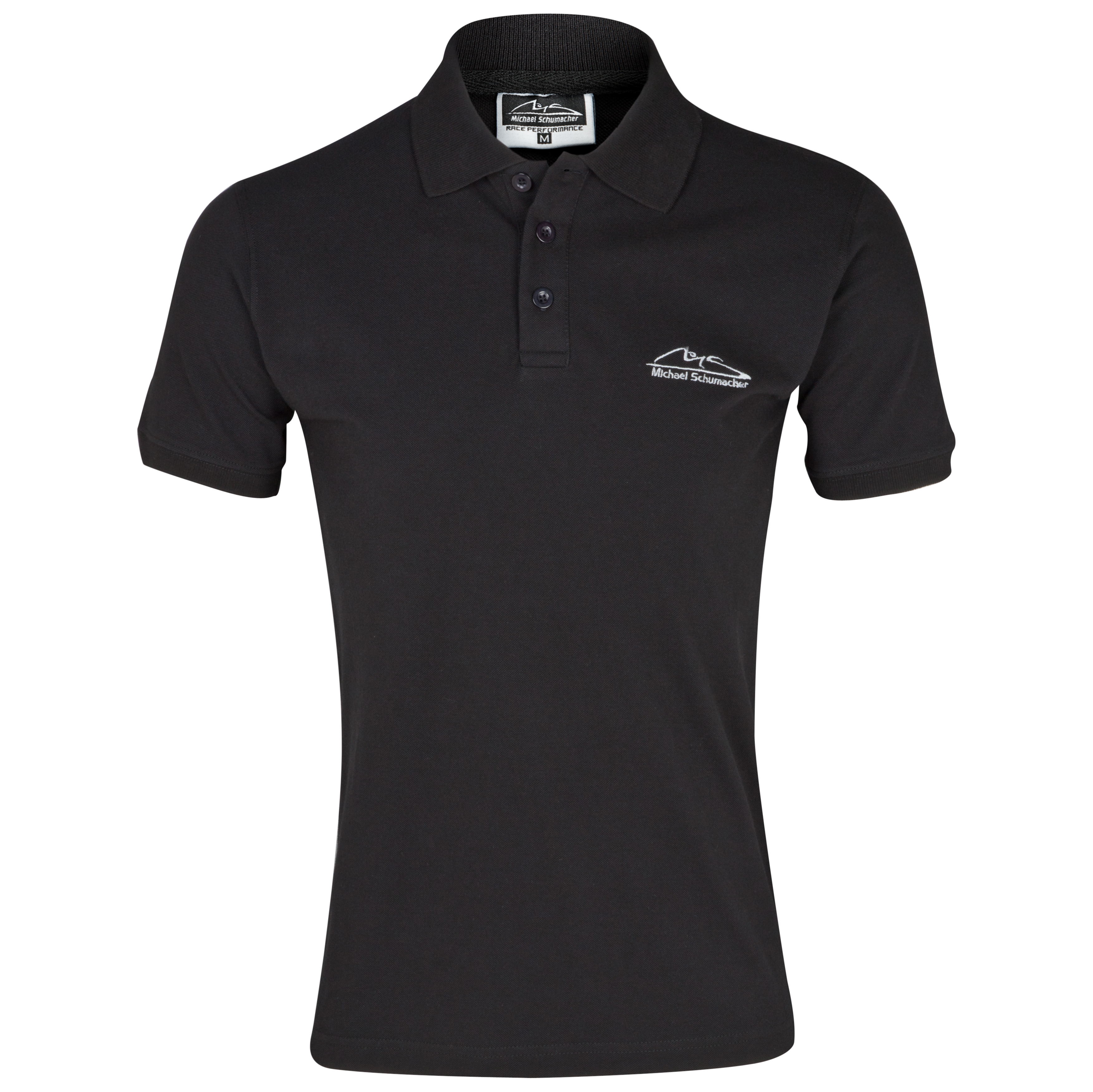 Michael Schumacher MS Logo Polo - Black
