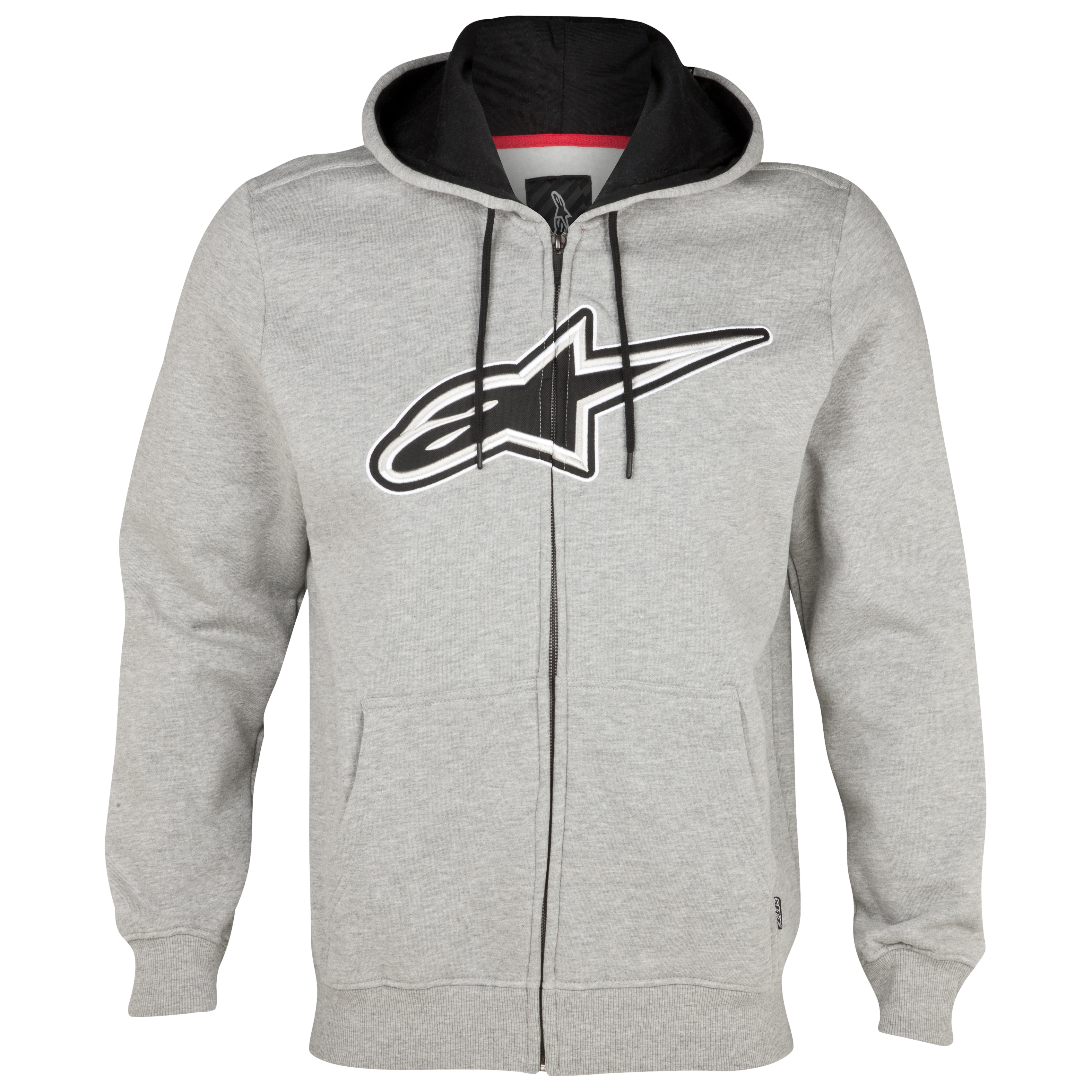 Alpinestars Destroyer Zip Fleece - Heather Grey