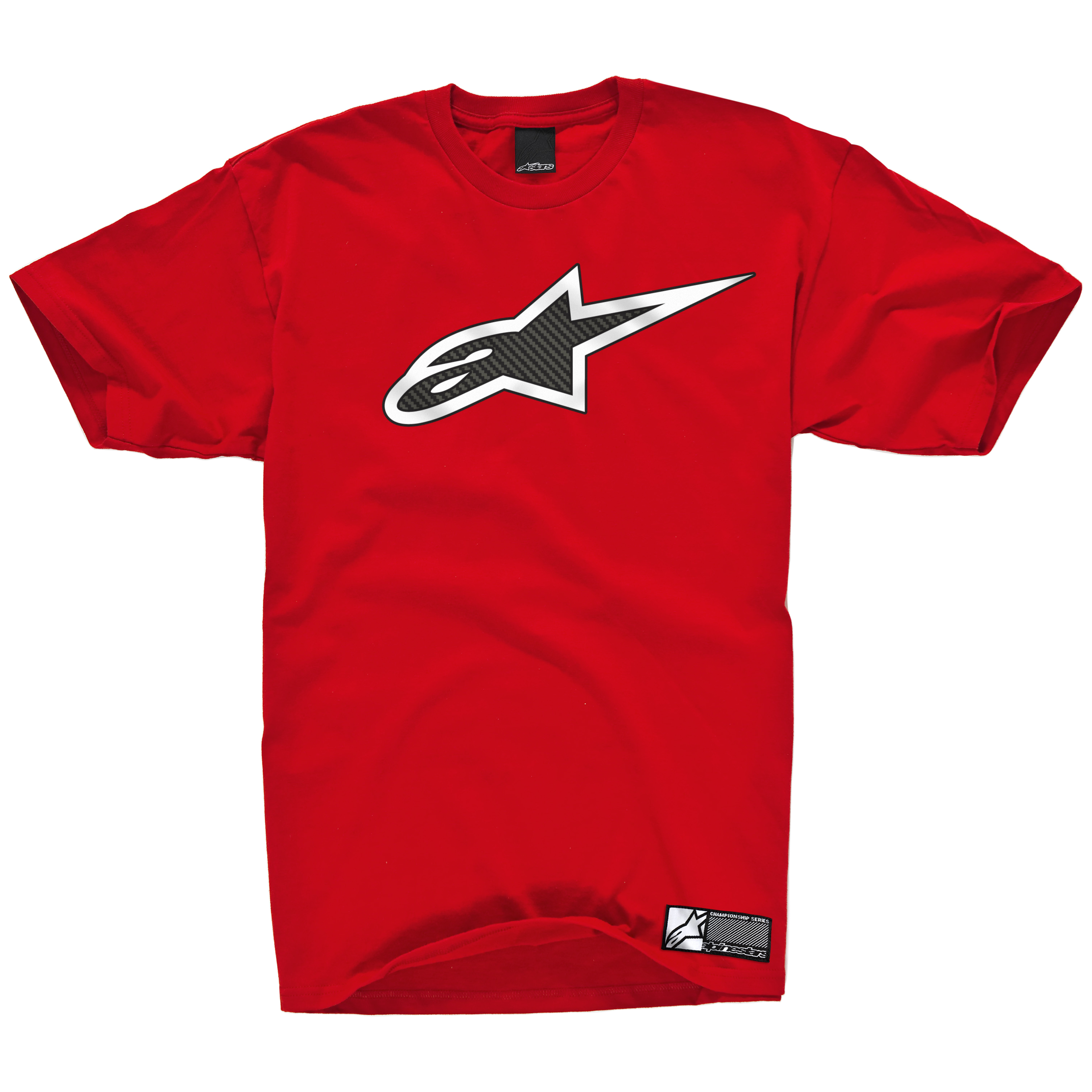 Alpinestars Carbon Fiber T-Shirt - Red