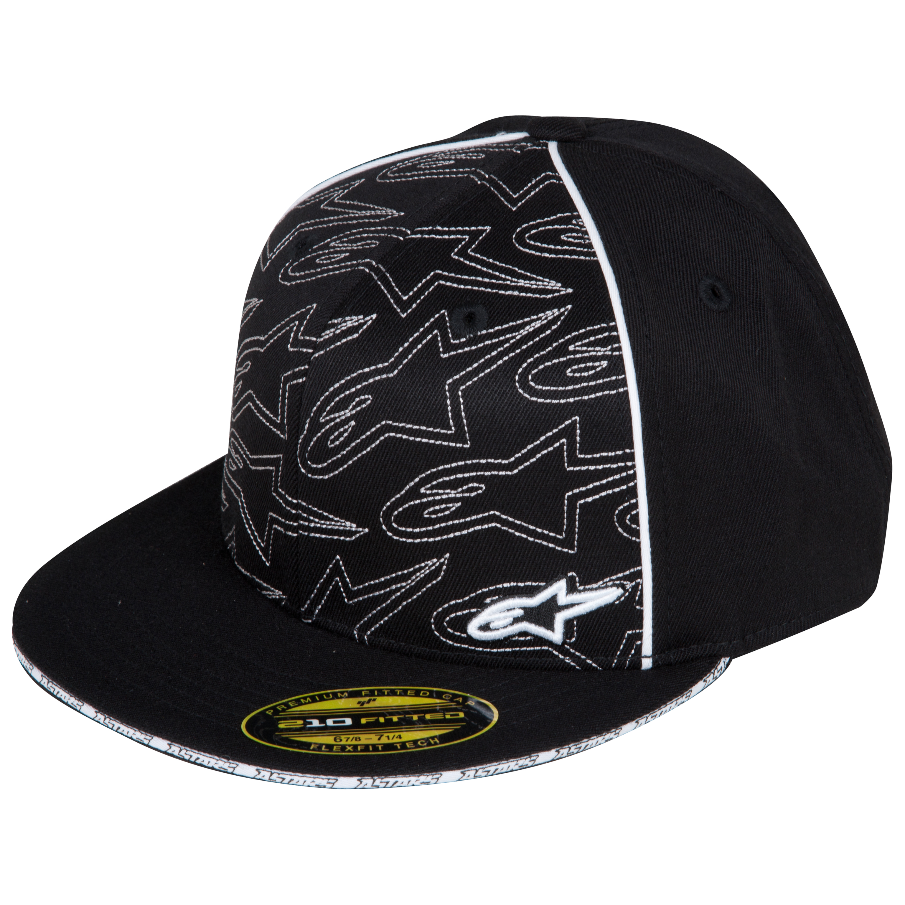 Alpinestar Alpinestars Burnout 210 Flexfit Hat - Black