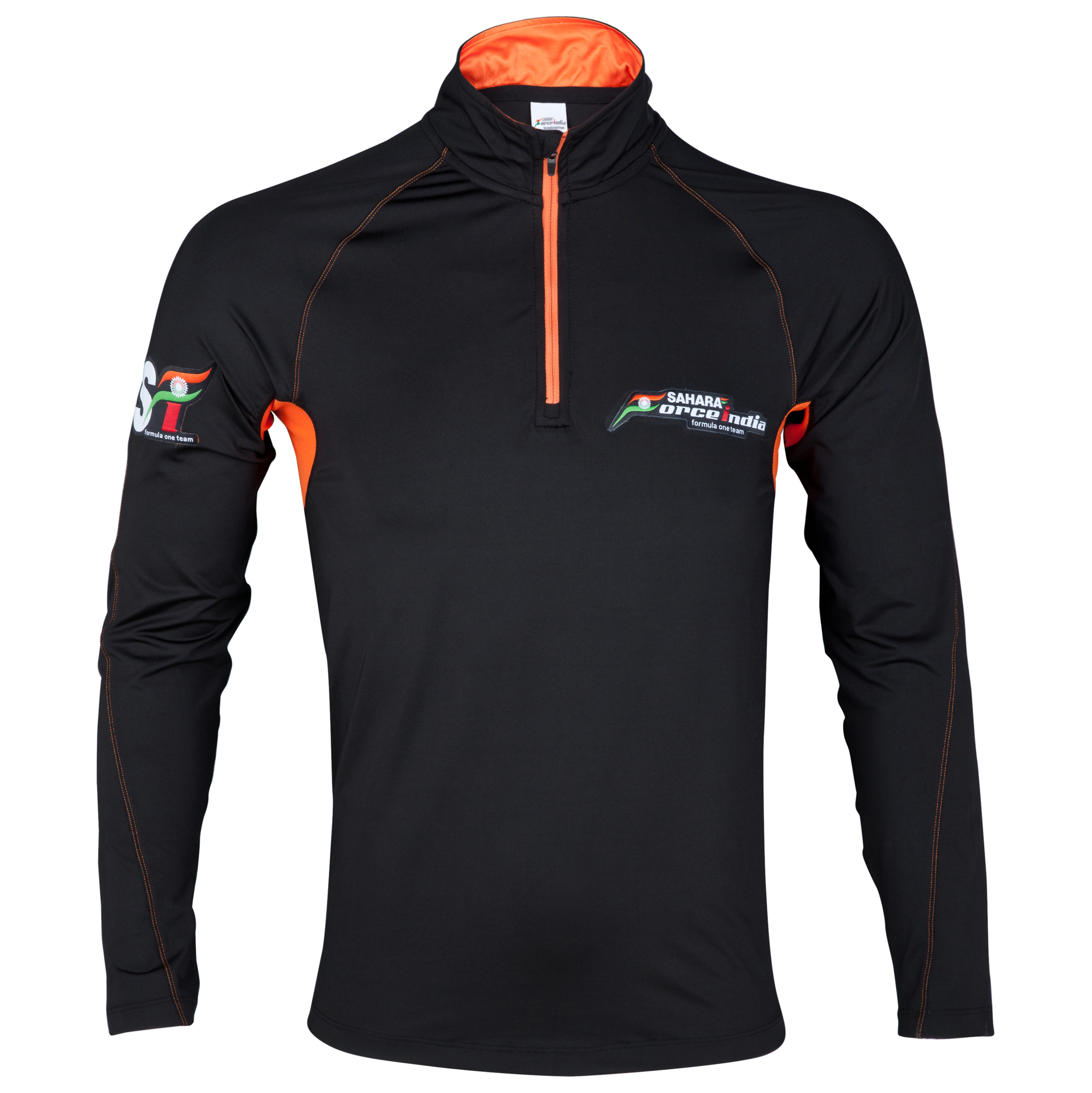 Sahara Force India Half Zip Body Shirt