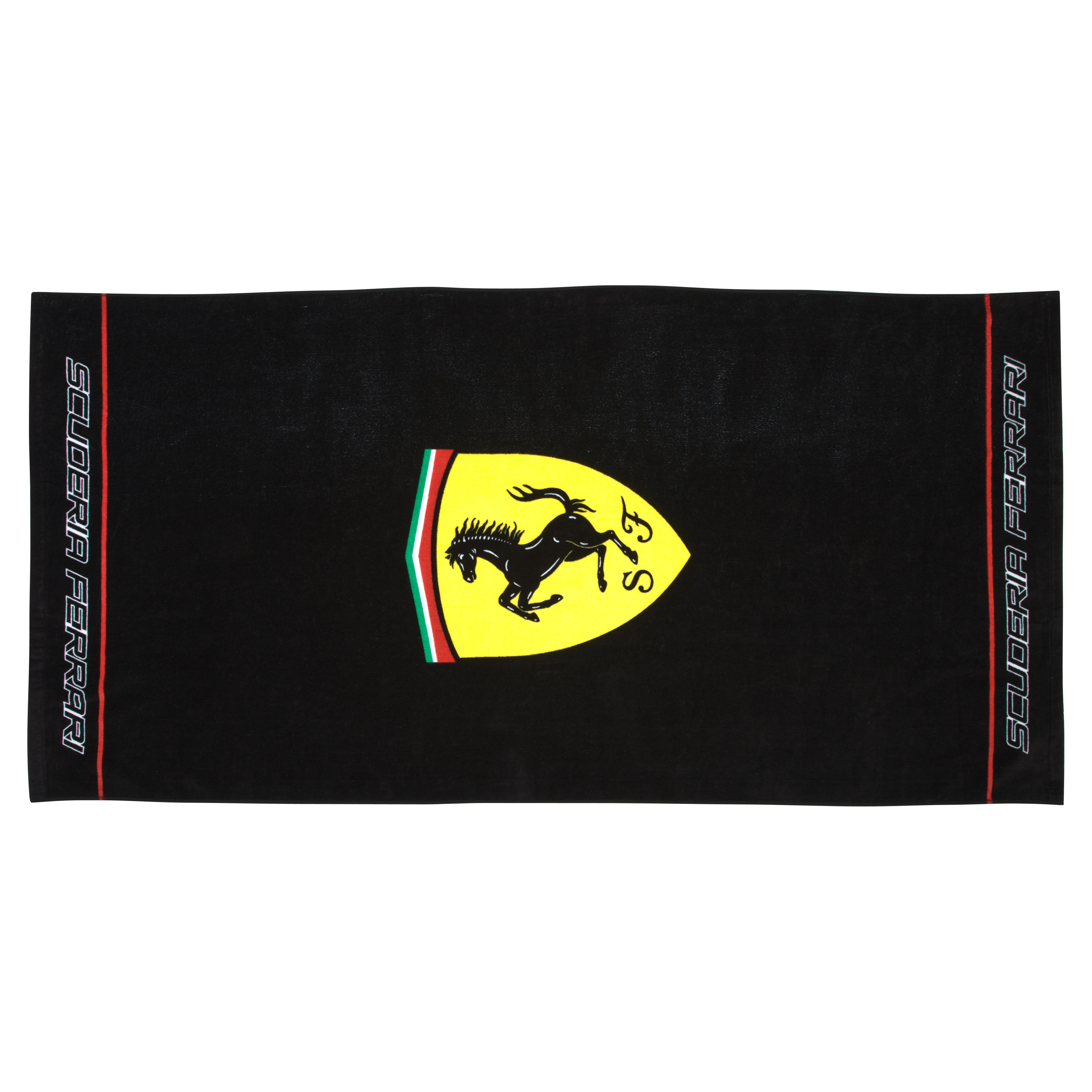 Scuderia Ferrari Classic Logo Beach Towel