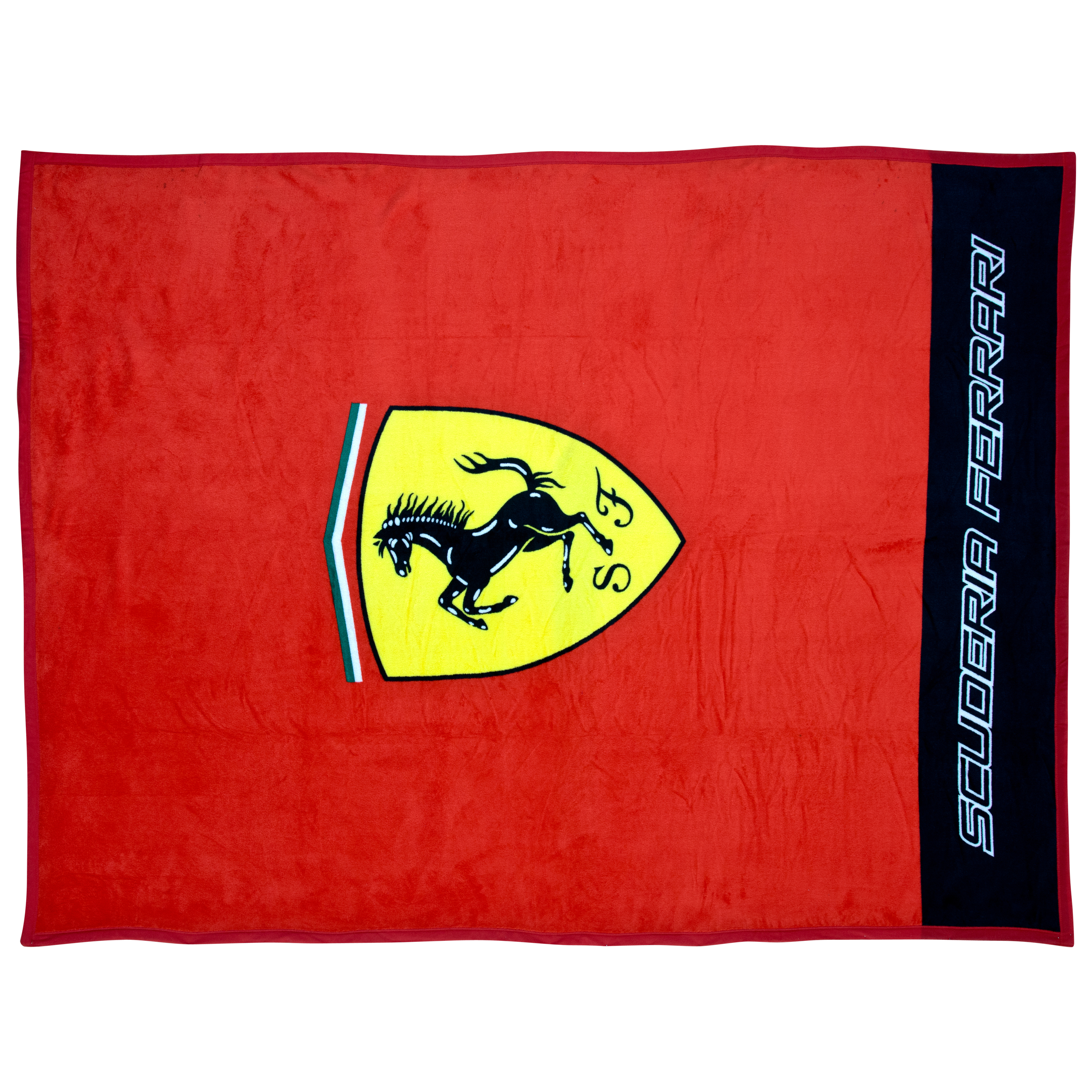 Scuderia Ferrari Classic Logo Microplush Blanket