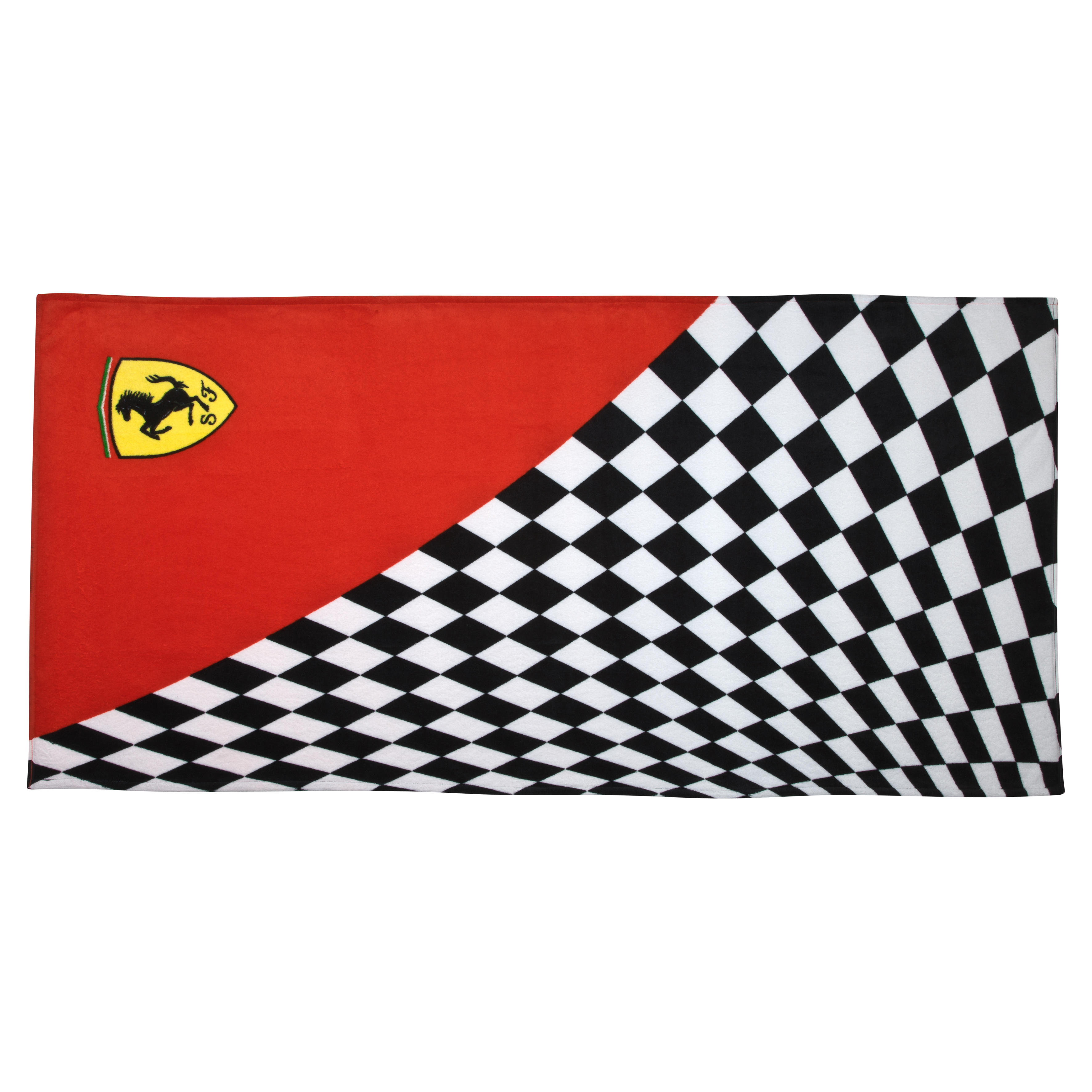Scuderia Ferrari Flag Beach Towel