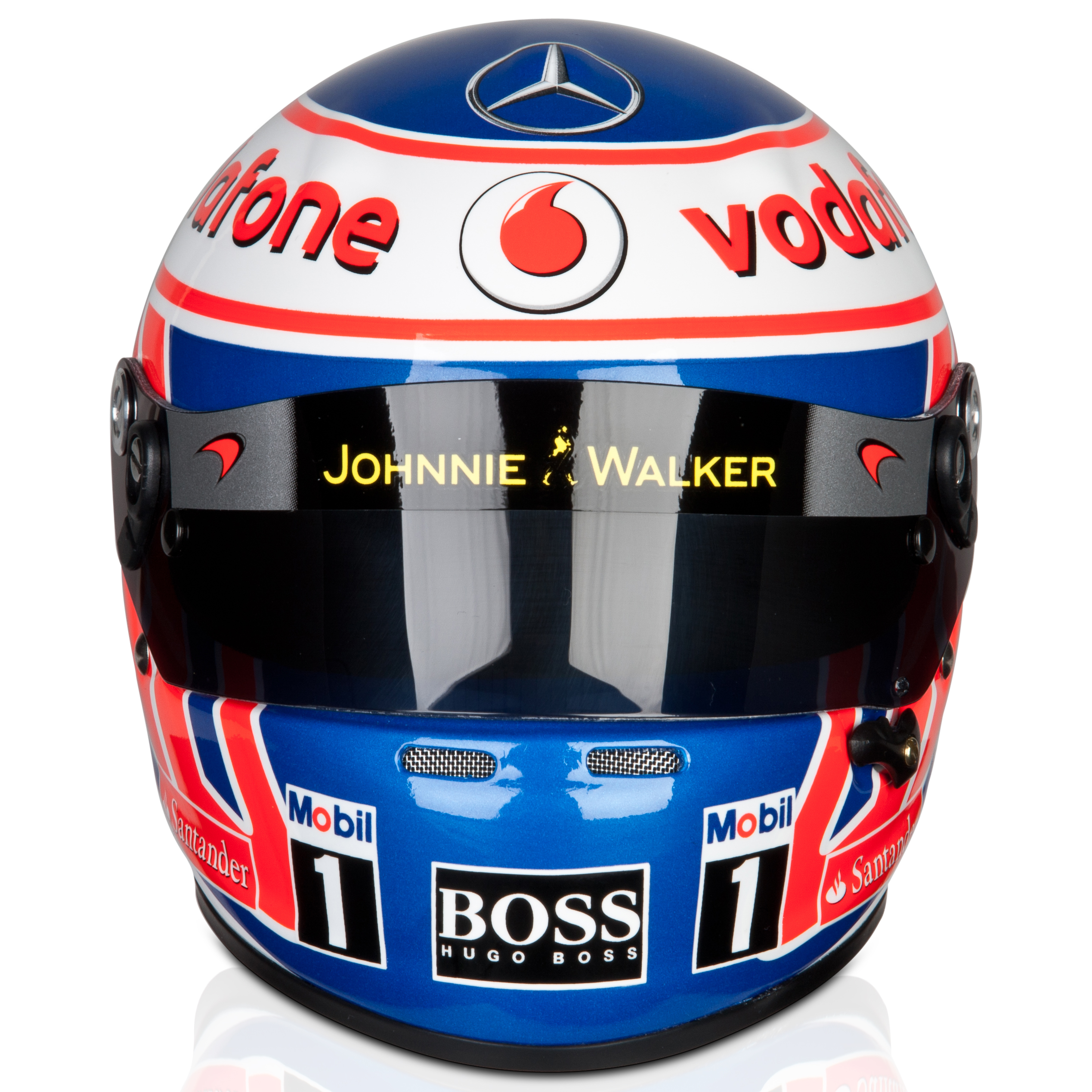 Vodafone McLaren Mercedes Jenson Button 2012 Helmet 1:2 Scale