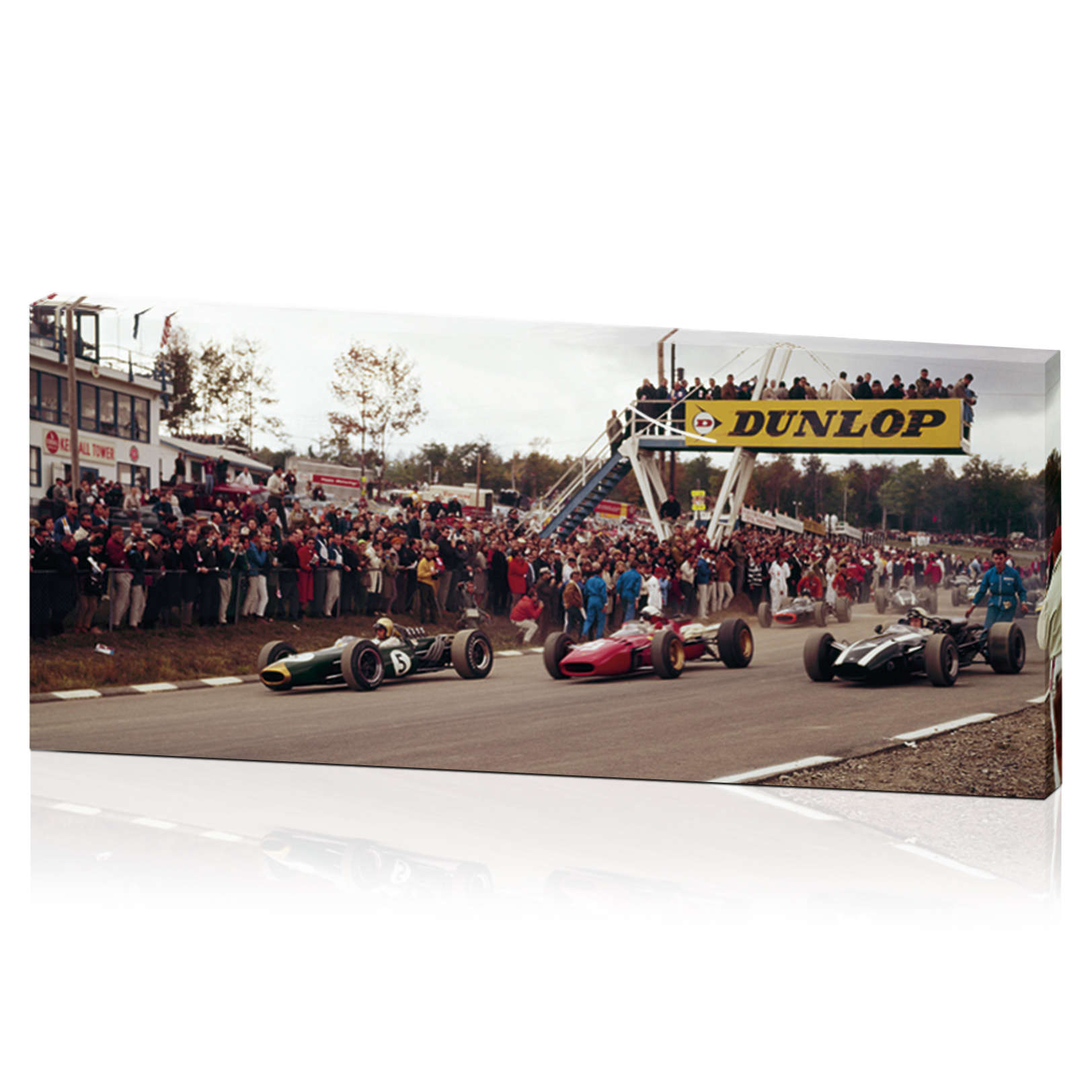 Limited Edition US Grand Prix 1966 Canvas