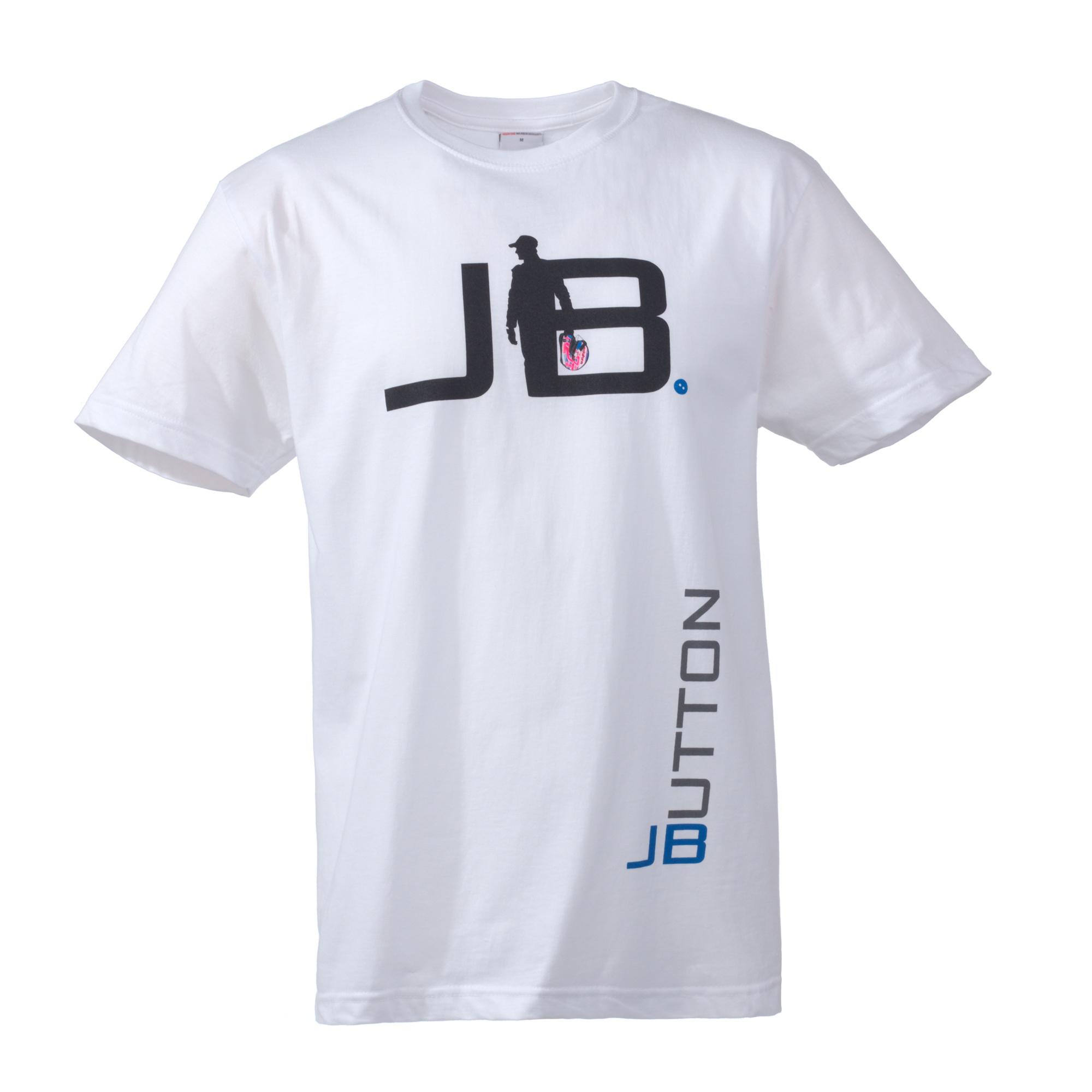 Vodafone McLaren Mercedes Jenson Silhouette T-Shirt