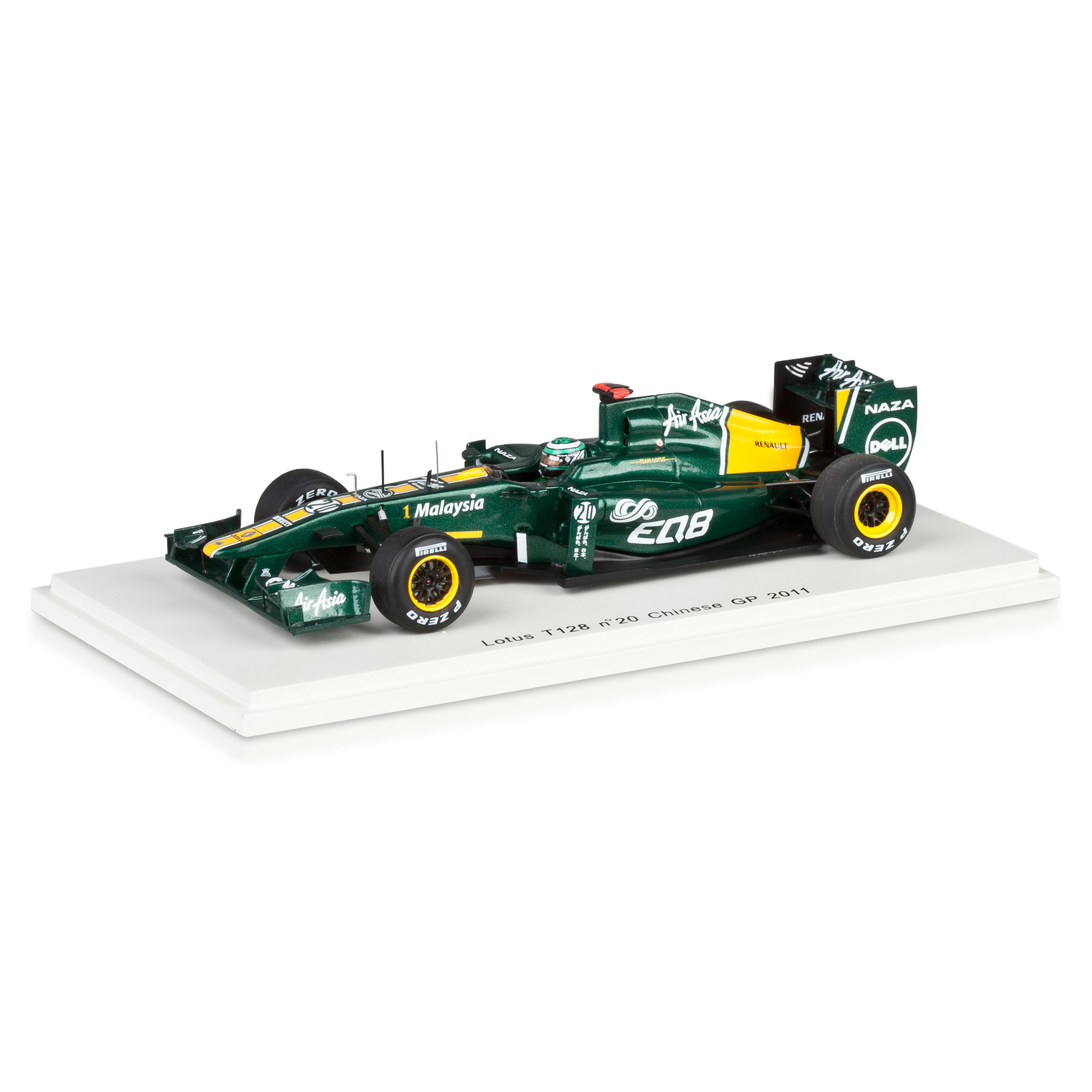 Lotus T128 2011 H.Kovalainen No.20 1:43 Scale