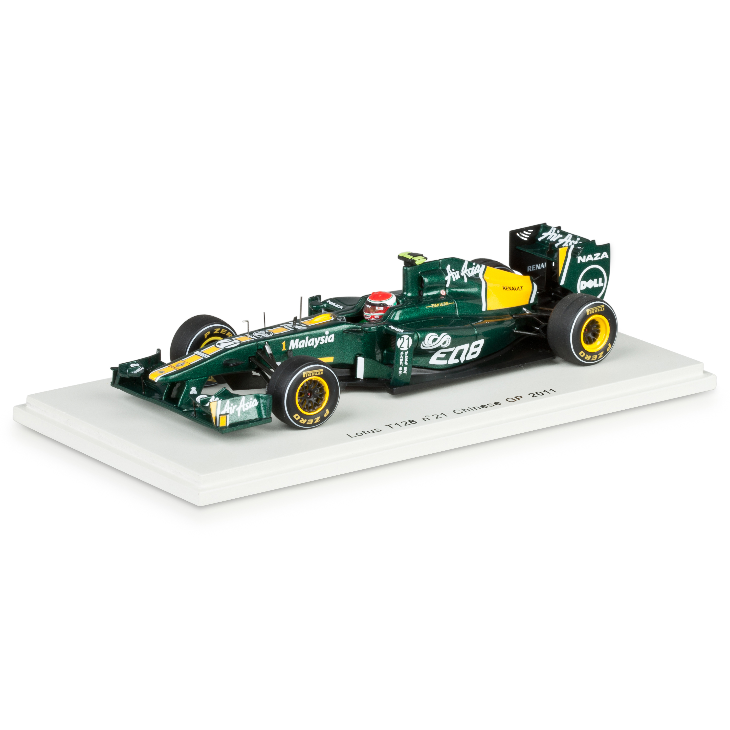 Lotus T128 2011 J.Trulli No.21 1:43 Scale
