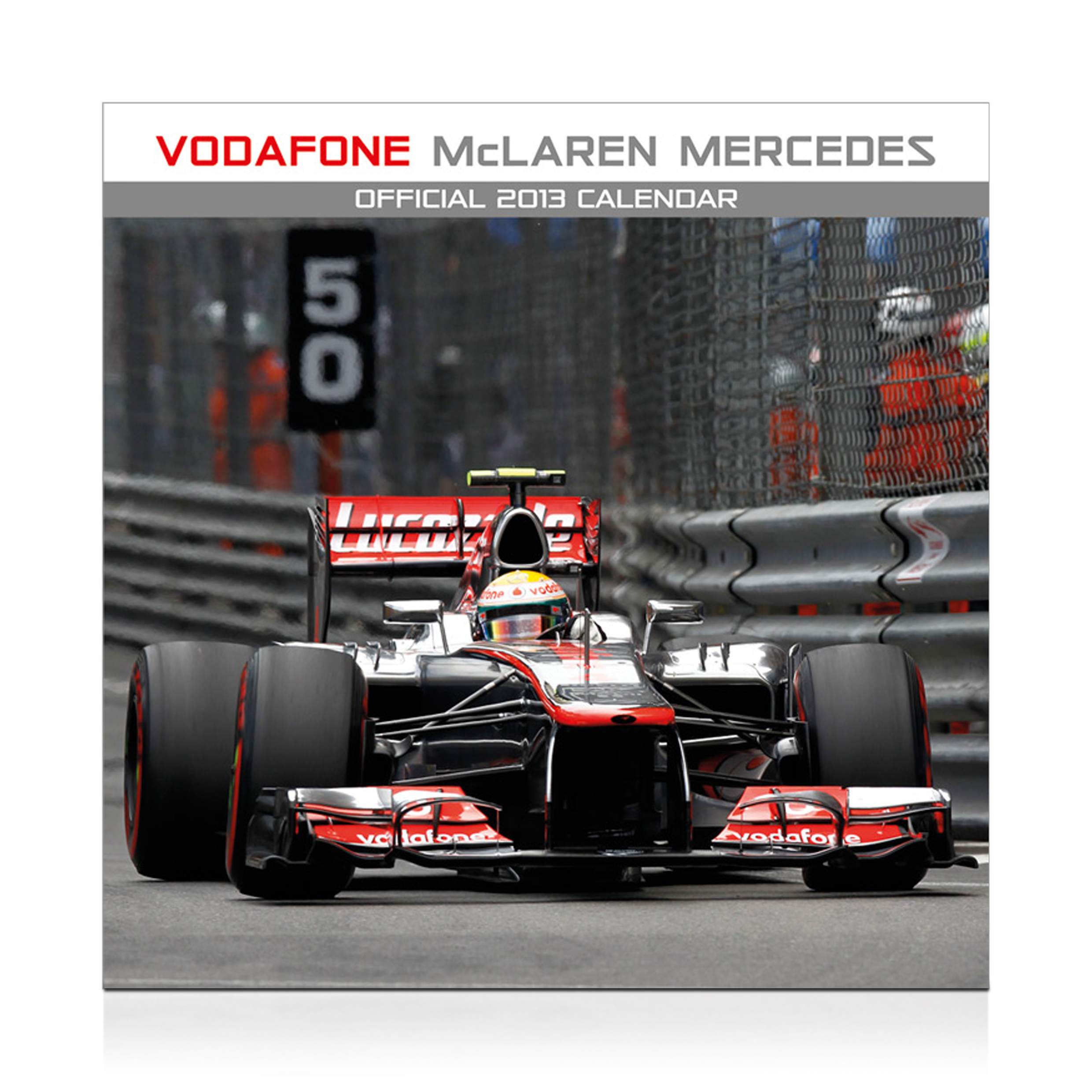 Vodafone McLaren Mercedes Official 2013 Calendar