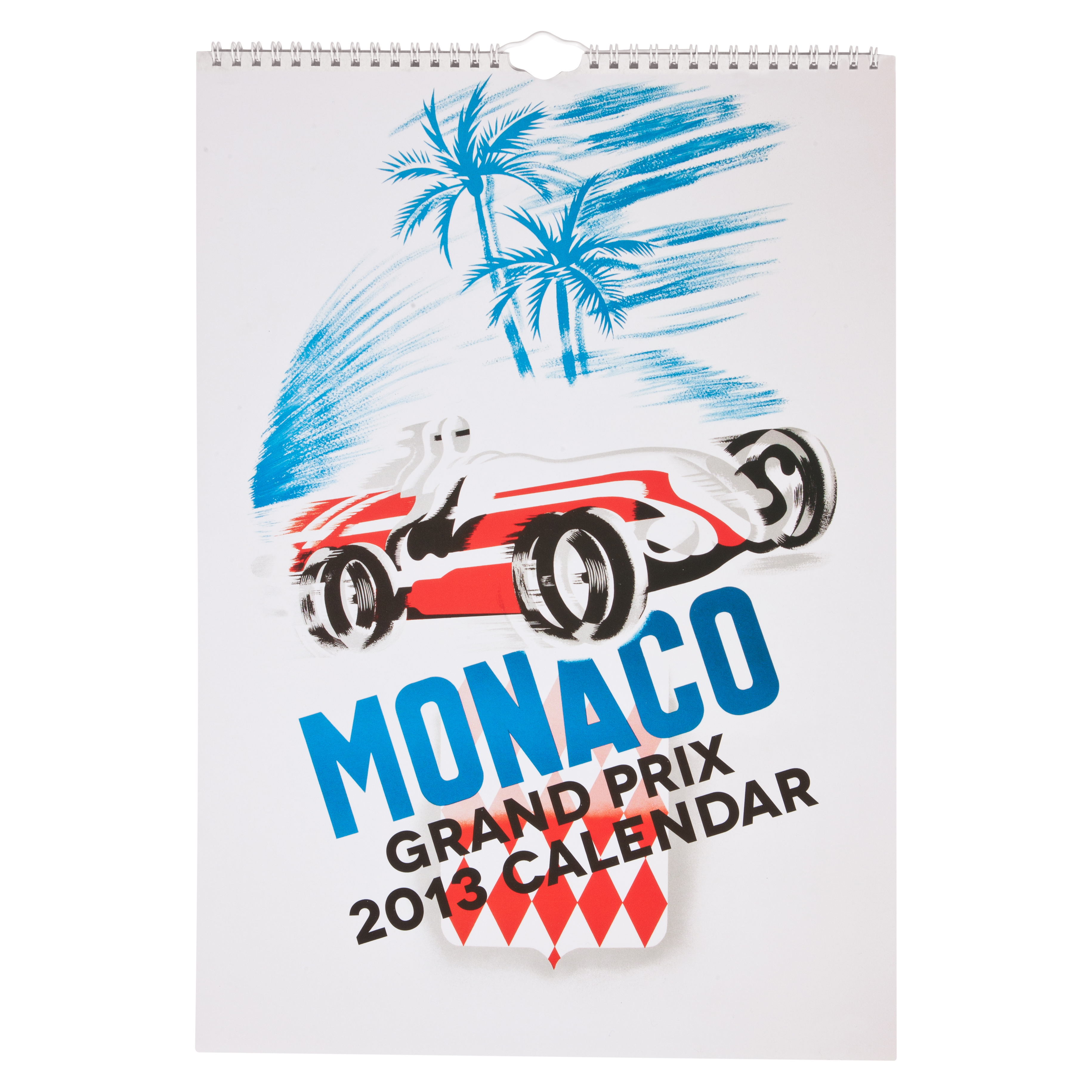 Vintage Monaco Poster 2013 Calendar