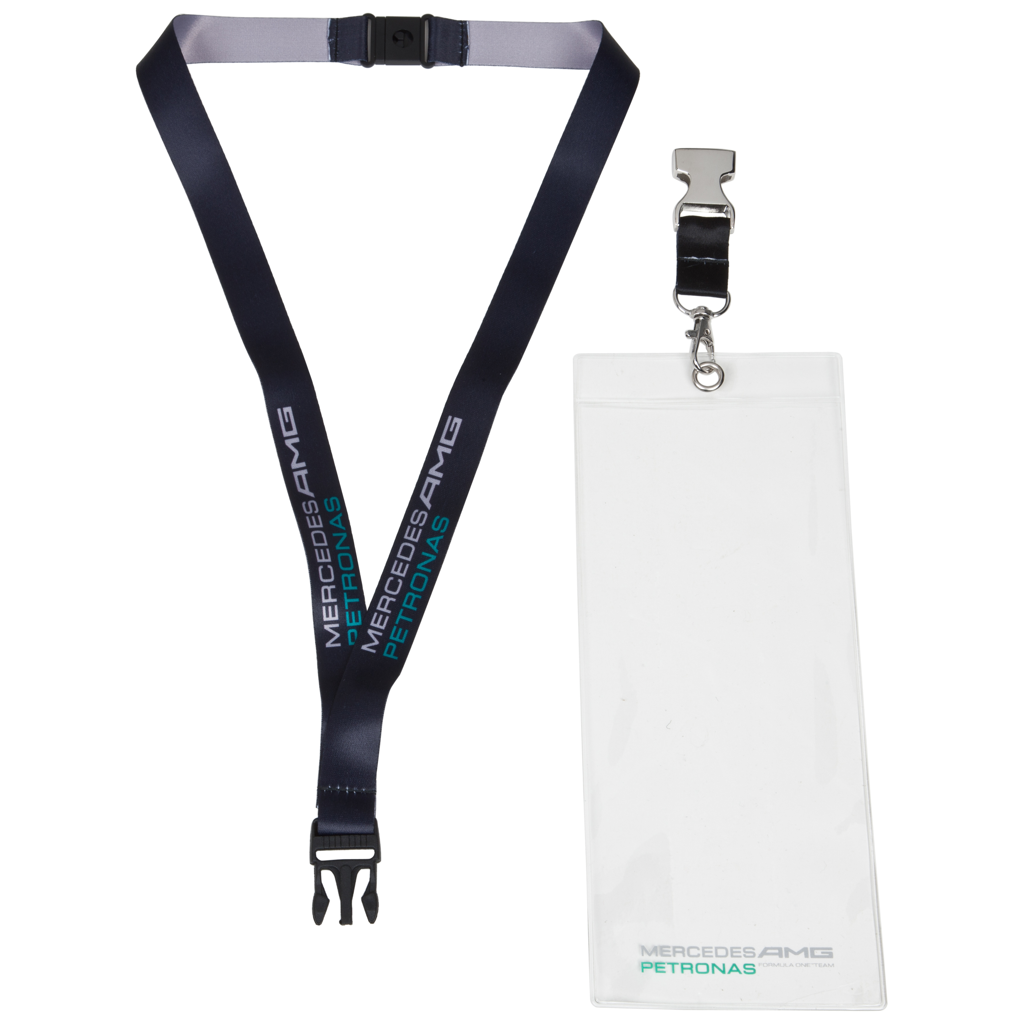 Mercedes AMG Petronas Formula One Team Lanyard With Case