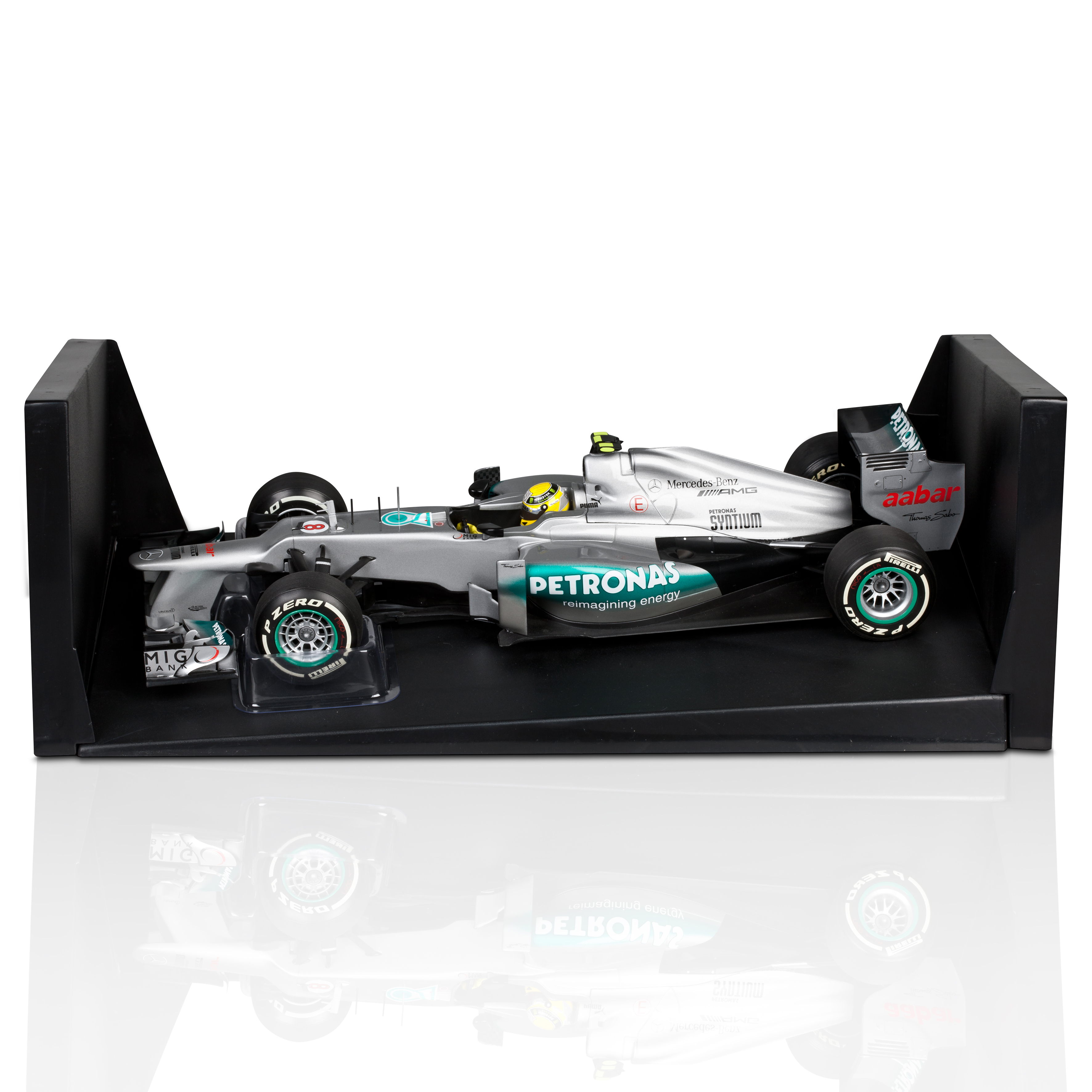 Mercedes AMG Petronas F1 Team W03 2012 Nico Rosberg - 1st F1 Win Chinese GP - Limited Edition 1:18 Scale