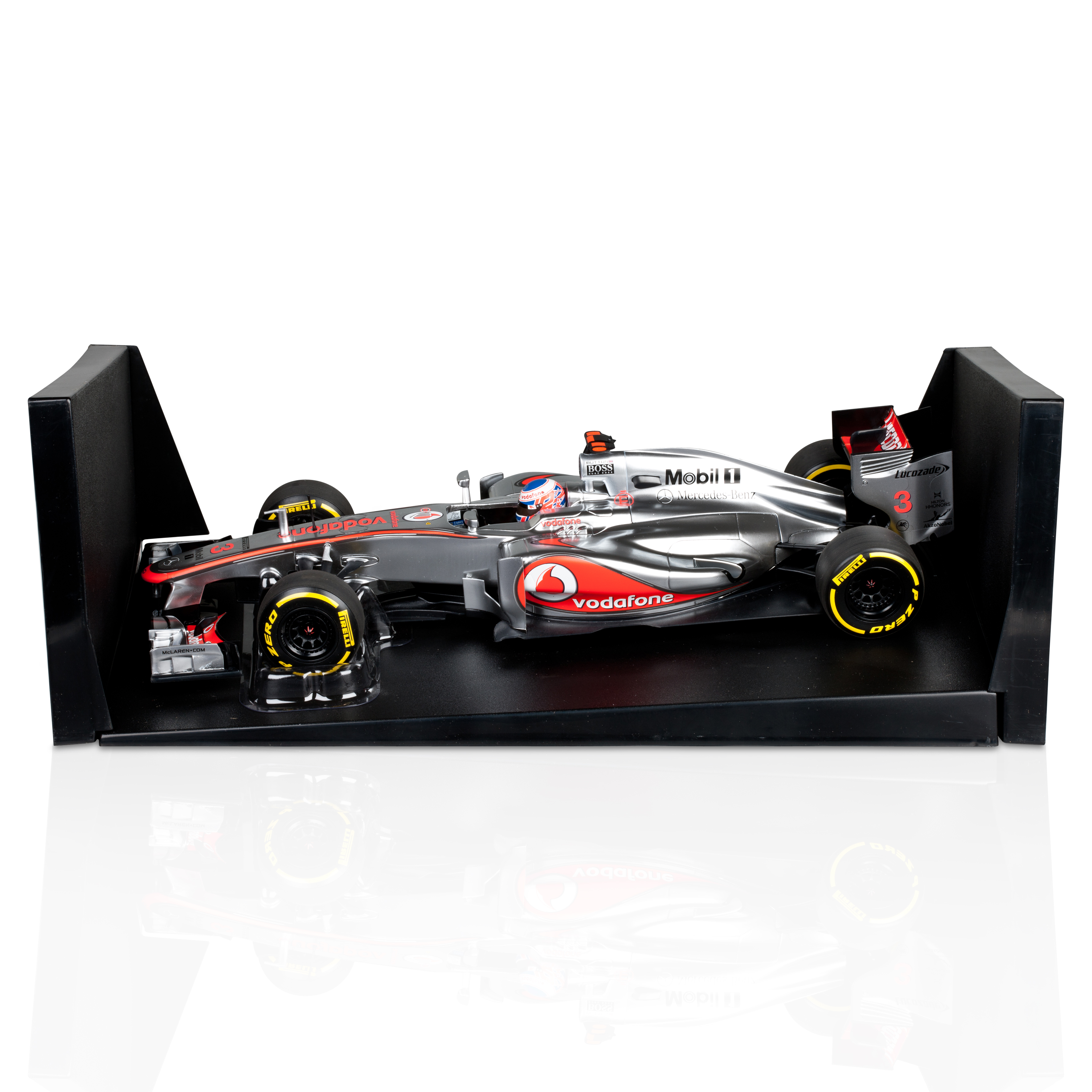 Vodafone Mclaren Mercedes MP4-27 2012 Jenson Button 1:18 Scale