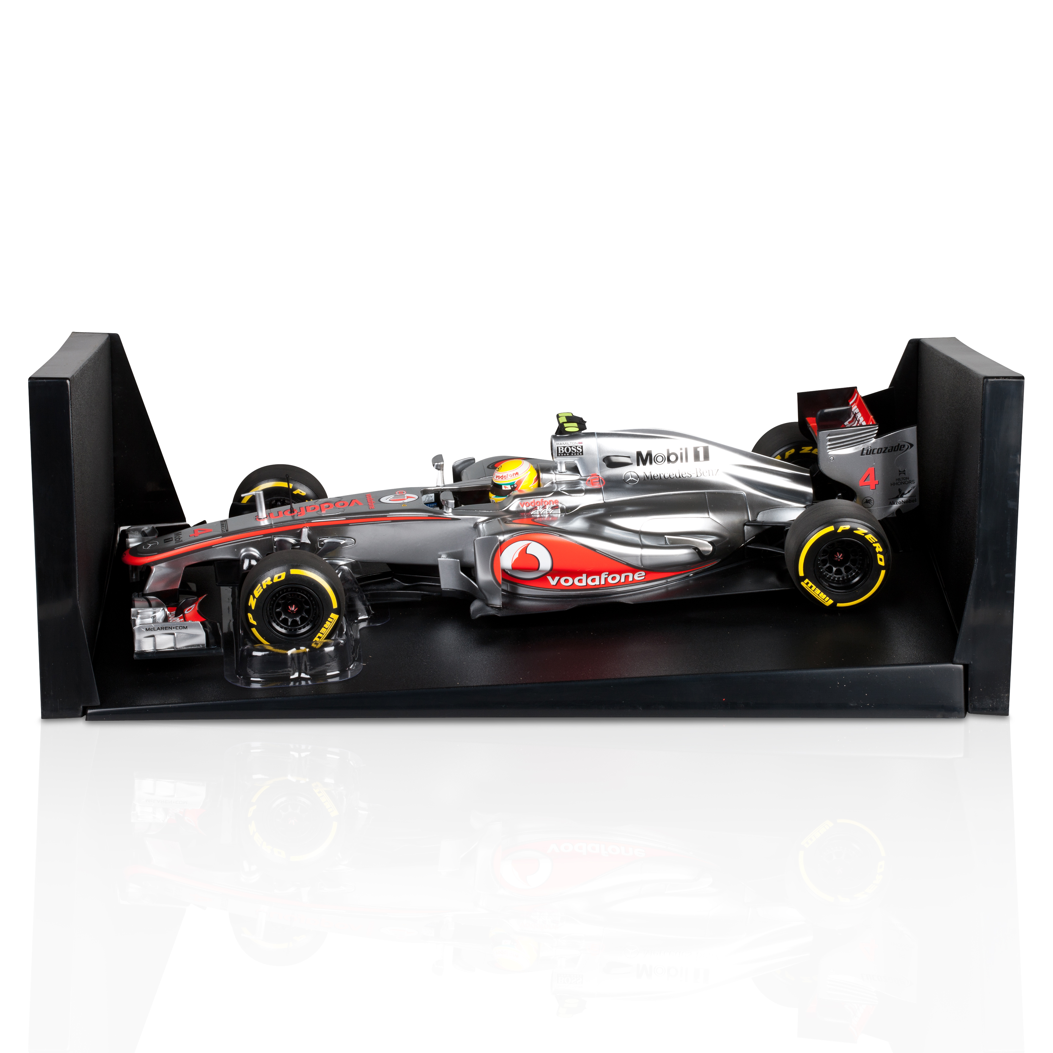 Vodafone Mclaren Mercedes MP4-27 2012 Lewis Hamilton 1:18 Scale