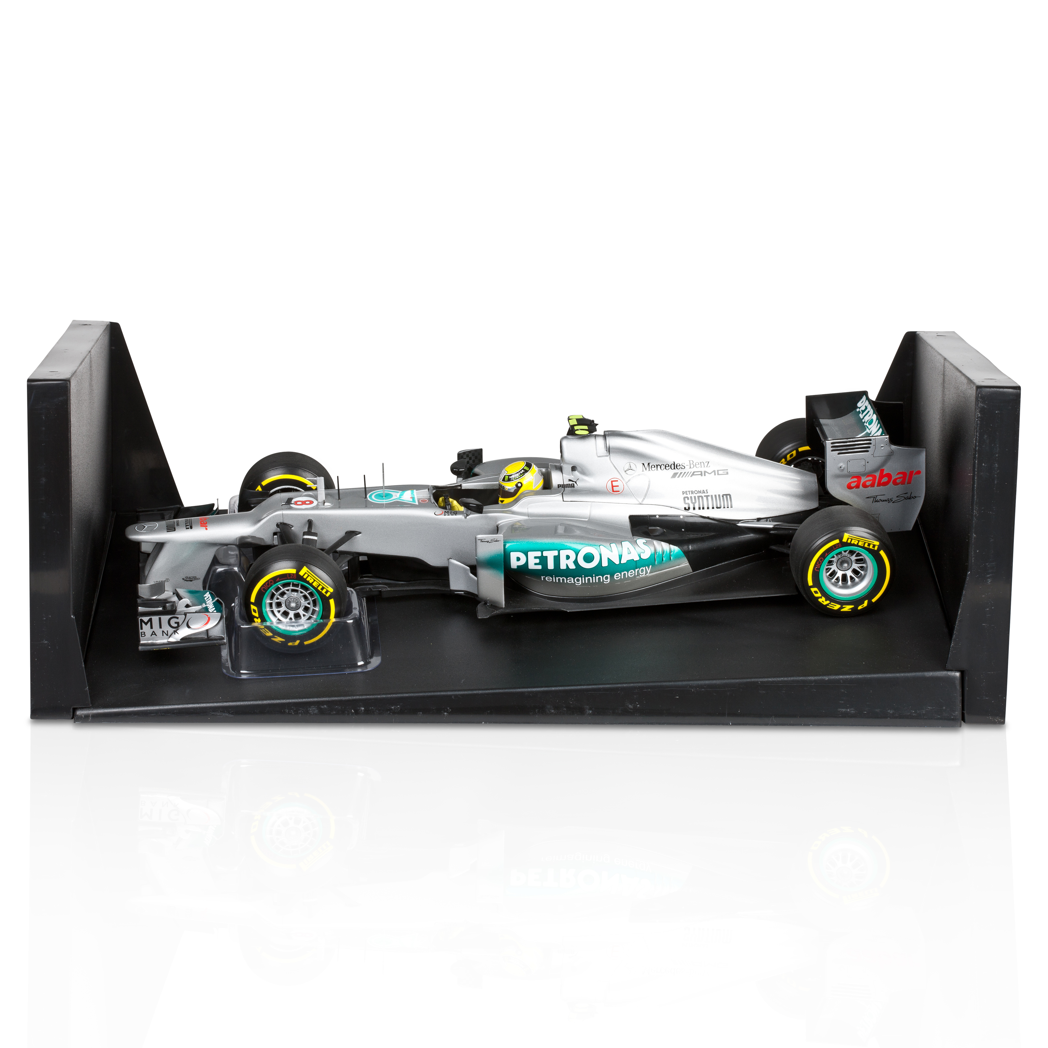 Mercedes AMG Petronas F1 Team W03 2012 Nico Rosberg 1:18 Scale