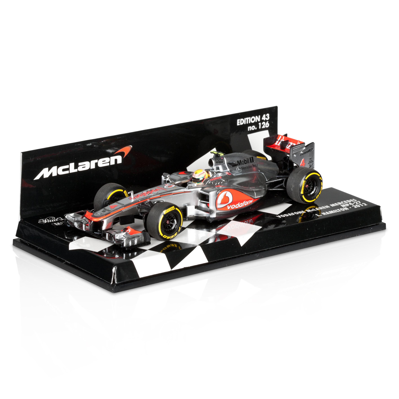 Vodafone McLaren Mercedes MP4-27 2012 Lewis Hamilton 1:43 Scale