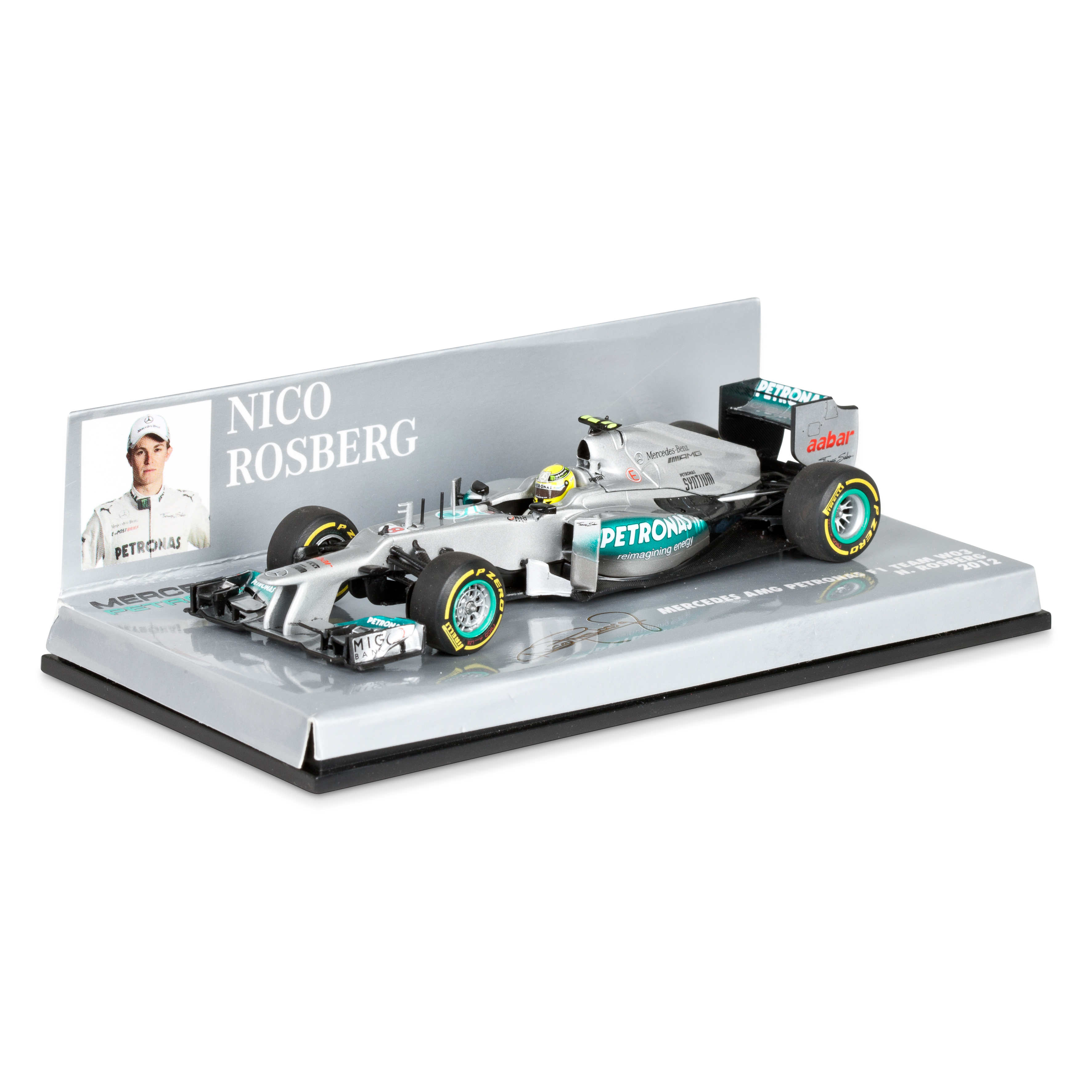 Mercedes AMG Petronas F1 Team W03 2012 Nico Rosberg 1:43 Scale