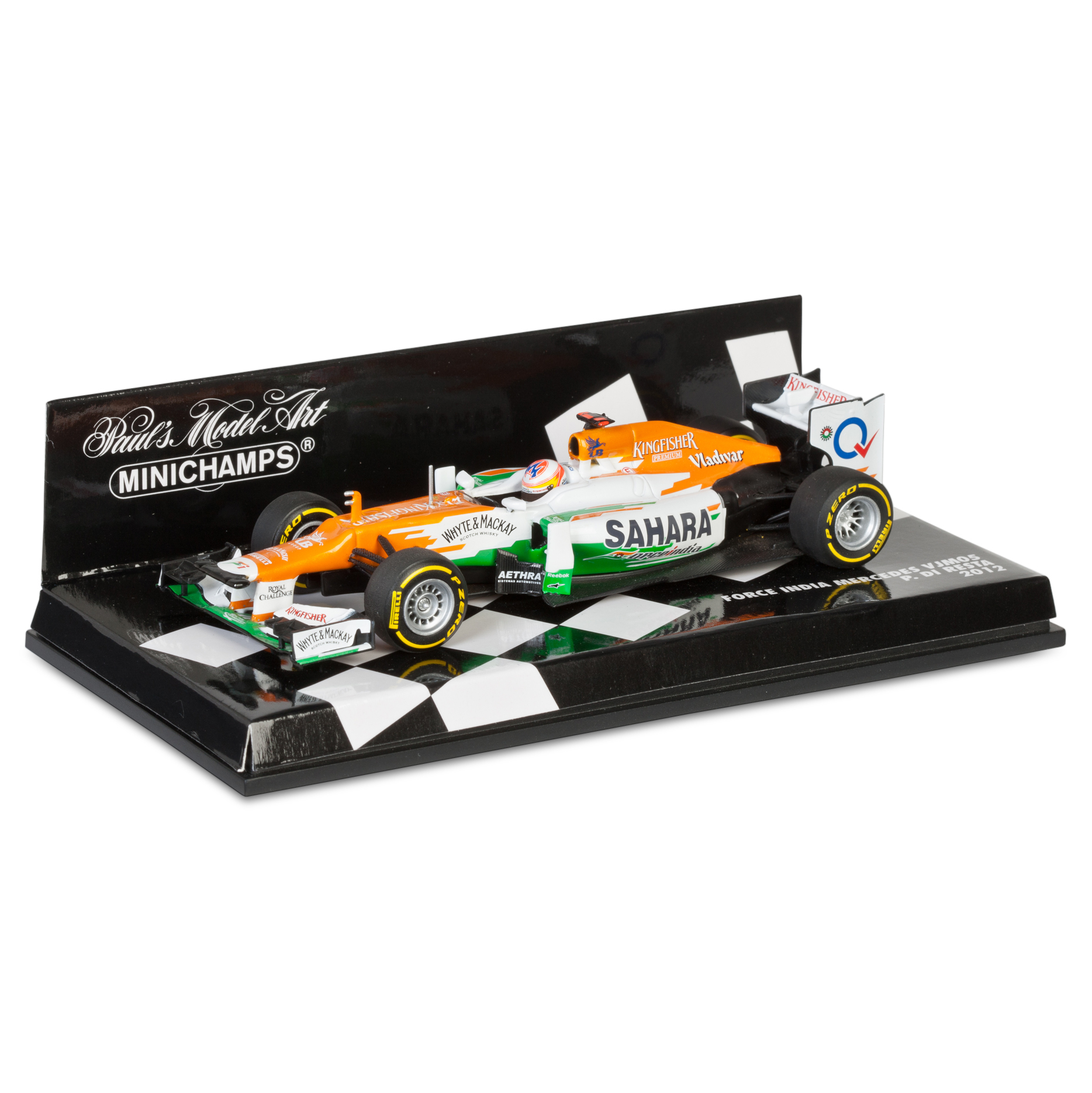 Sahara Force India Team Mercedes VJM05 2012 Paul Di Resta 1:43 Scale