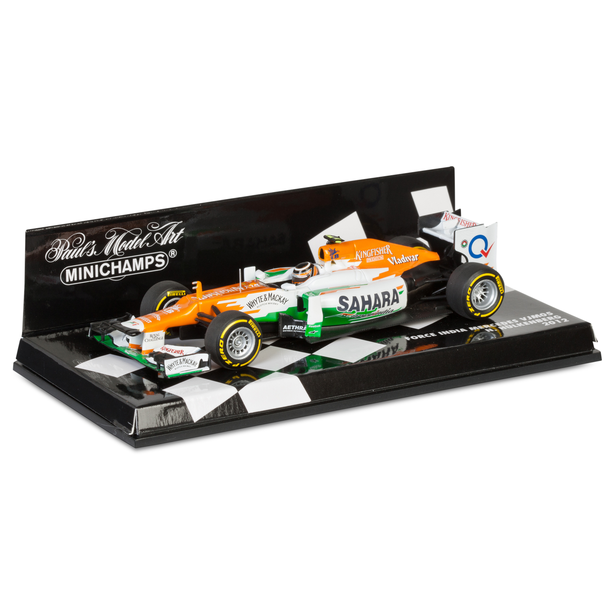 Sahara Force India Team Mercedes VJM05 2012 Nico Hulkenberg 1:43 Scale