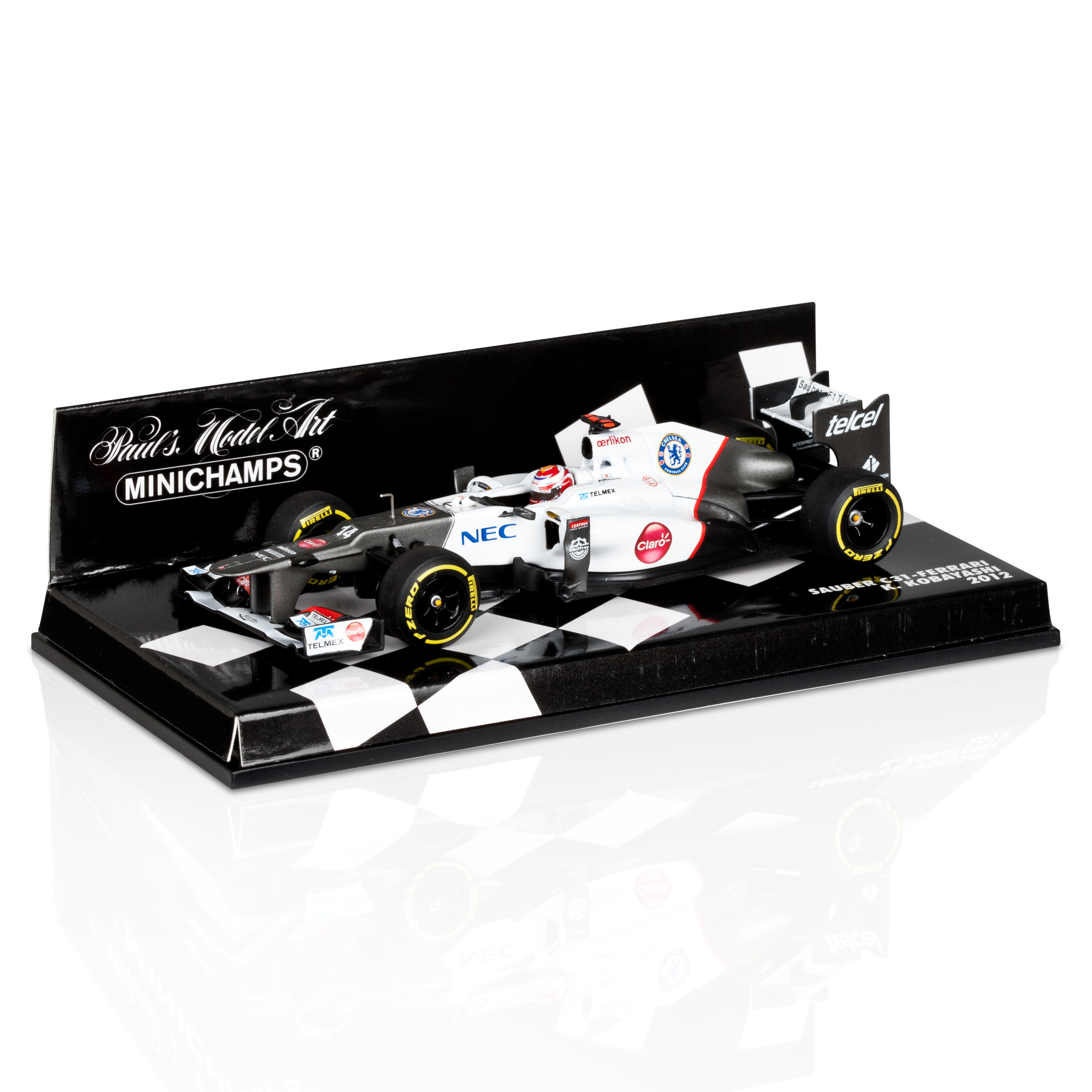 Sauber F1 Team Ferrari C31 2012 Kamui Kobayashi 1:43 Scale