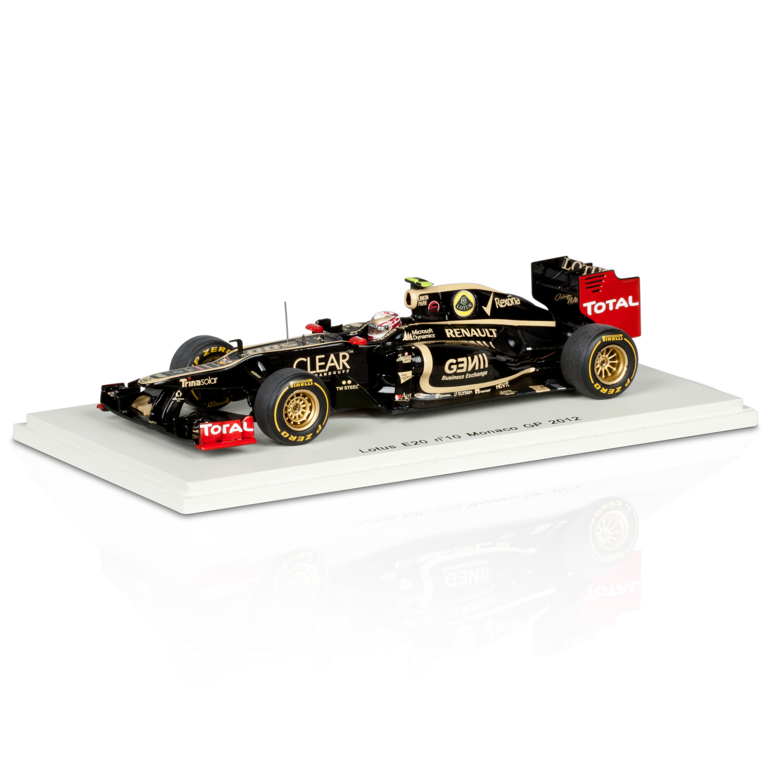 Lotus F1 Team Renault E20 Romain Grosjean Monaco GP 2012 1:43 Scale