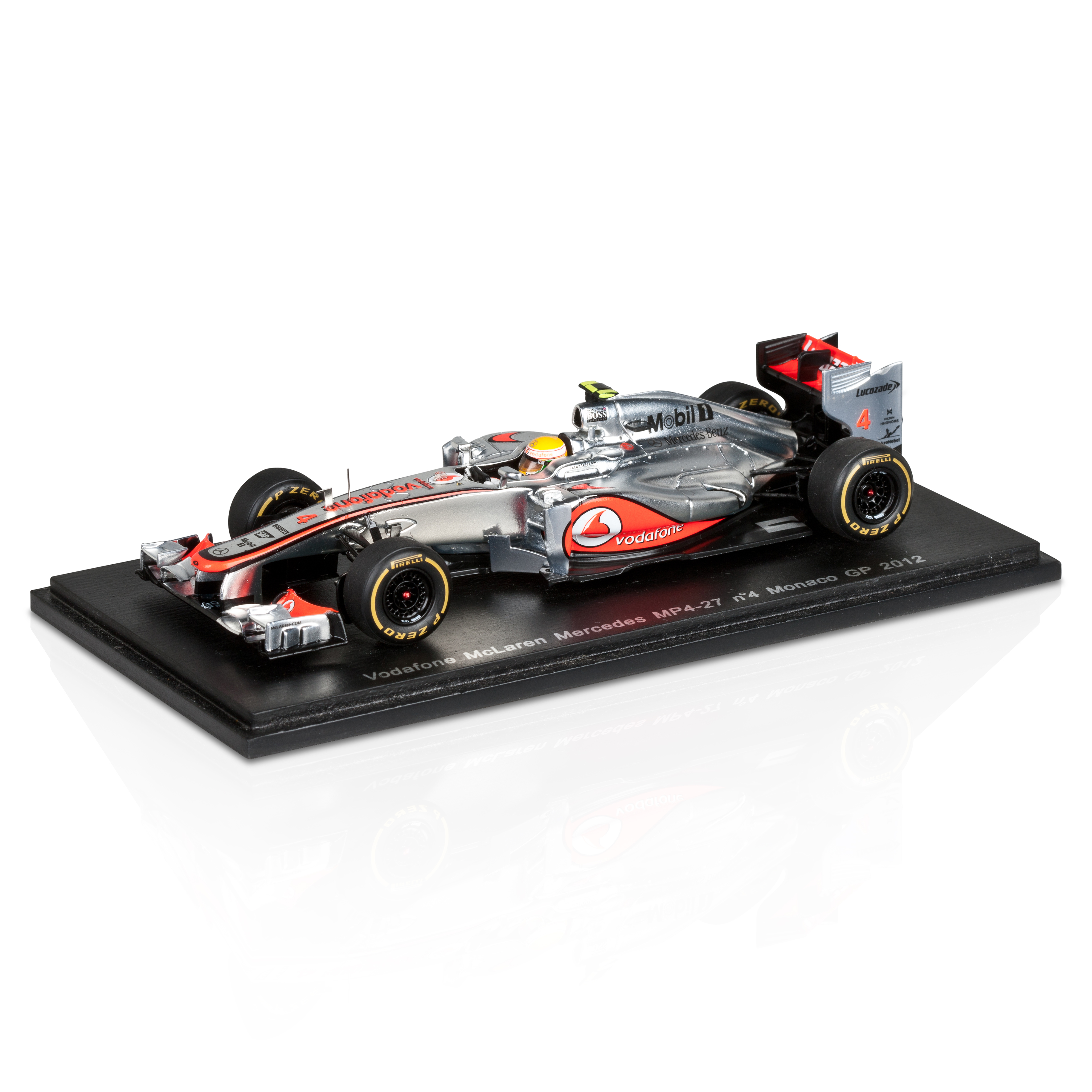 Vodafone Mclaren MP4-27 Lewis Hamilton Monaco GP 2012 1:43 Scale