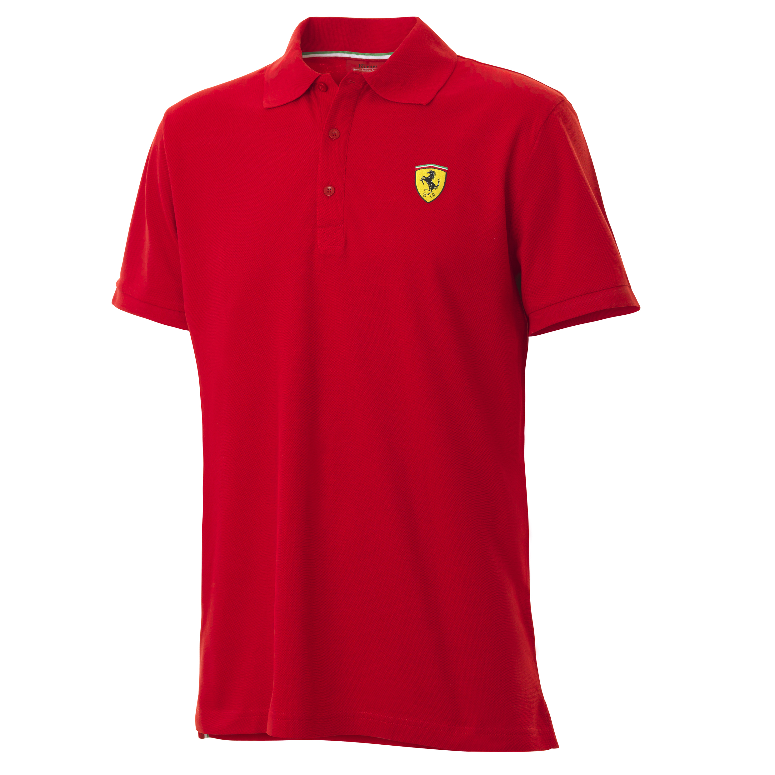 Scuderia Ferrari Classic Polo Shirt - Red