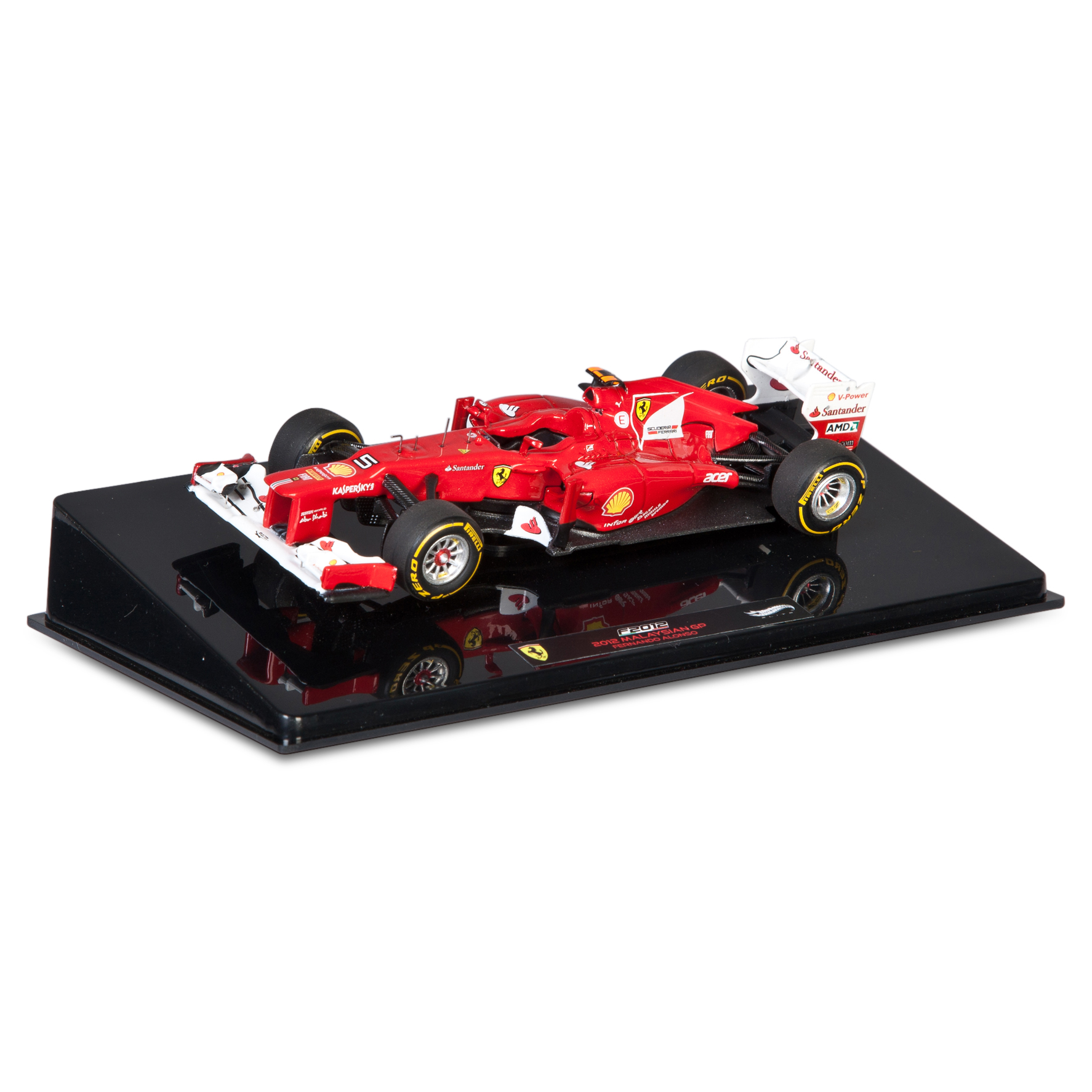 Scuderia Ferrari Scuderia F2012 - F. Alonso Super detailed version 1:43 Scale