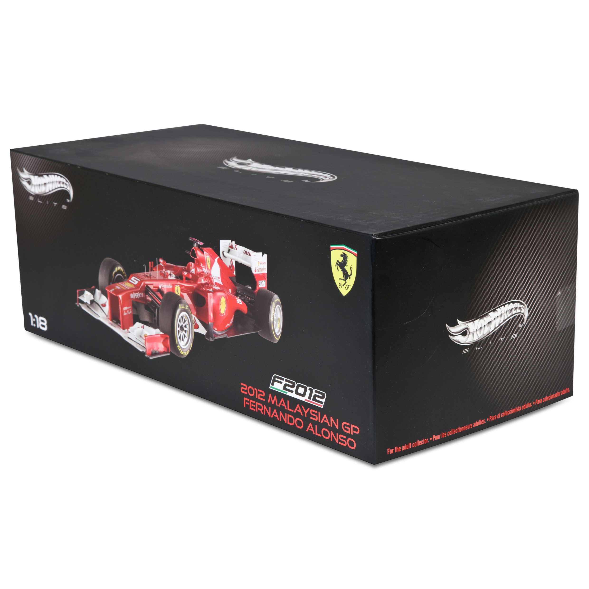 Scuderia Ferrari Scuderia F2012 - F. Alonso Super detailed version 1:18 Scale