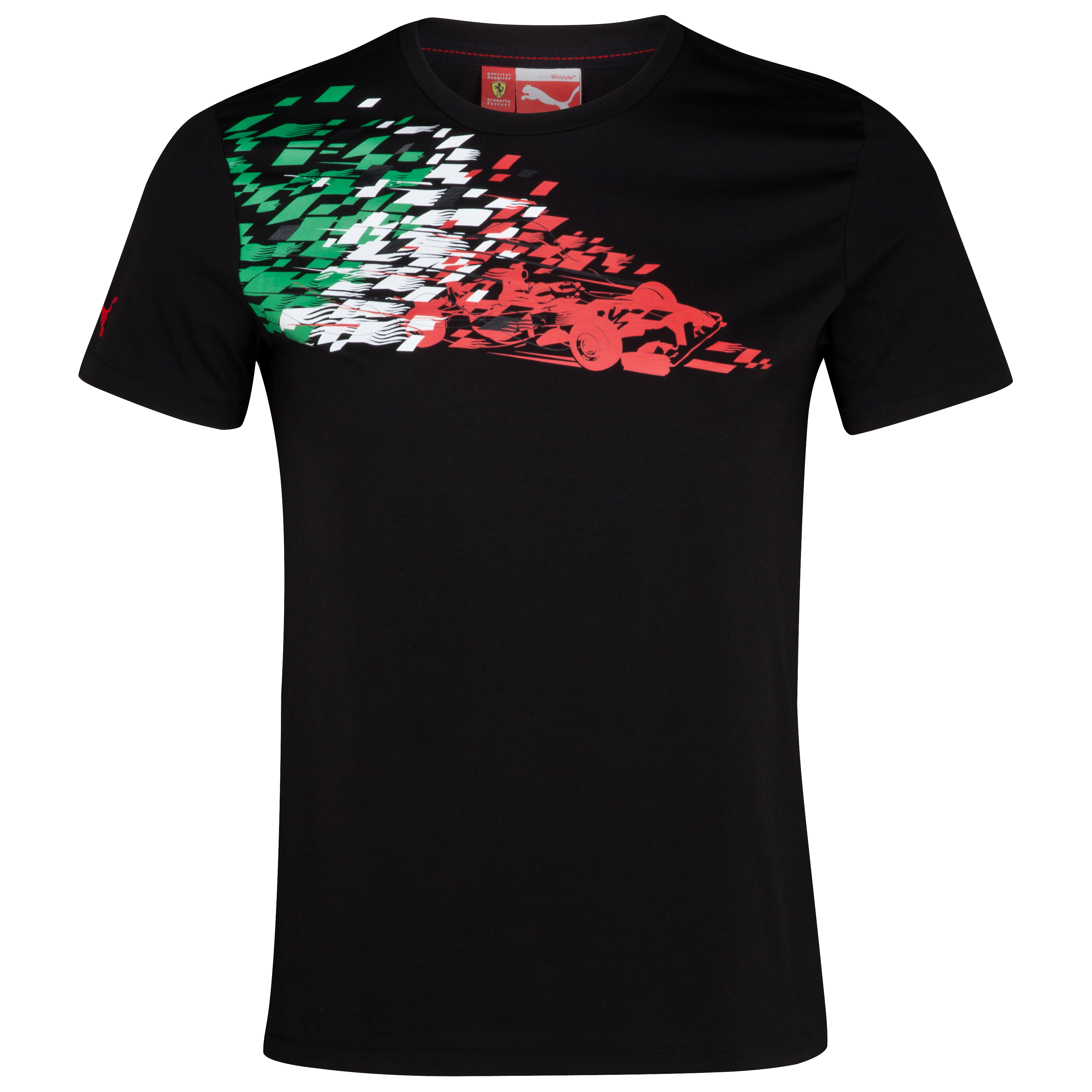 Scuderia Ferrari Graphic T-Shirt - Black