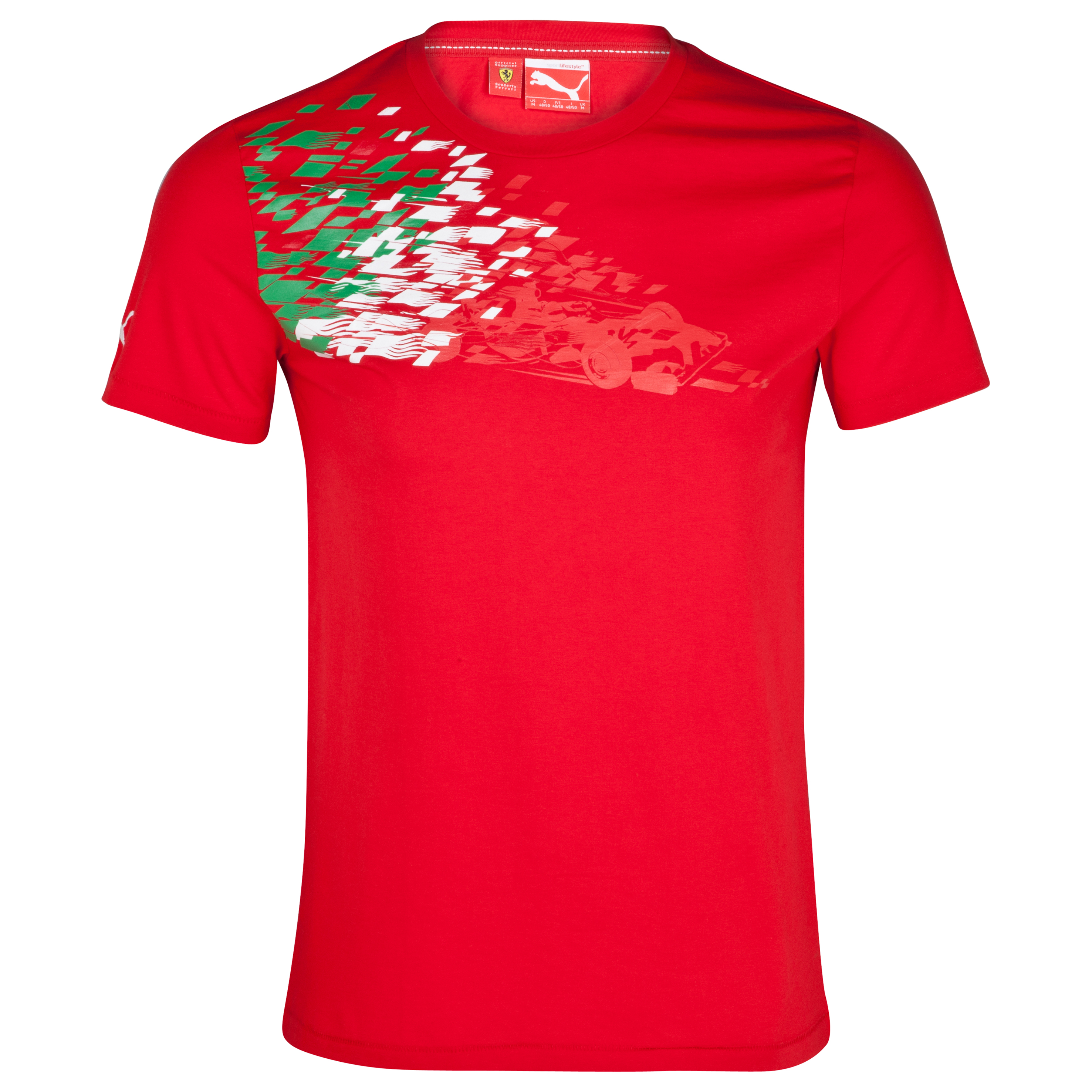 Scuderia Ferrari Graphic T-Shirt - Rosso Corsa