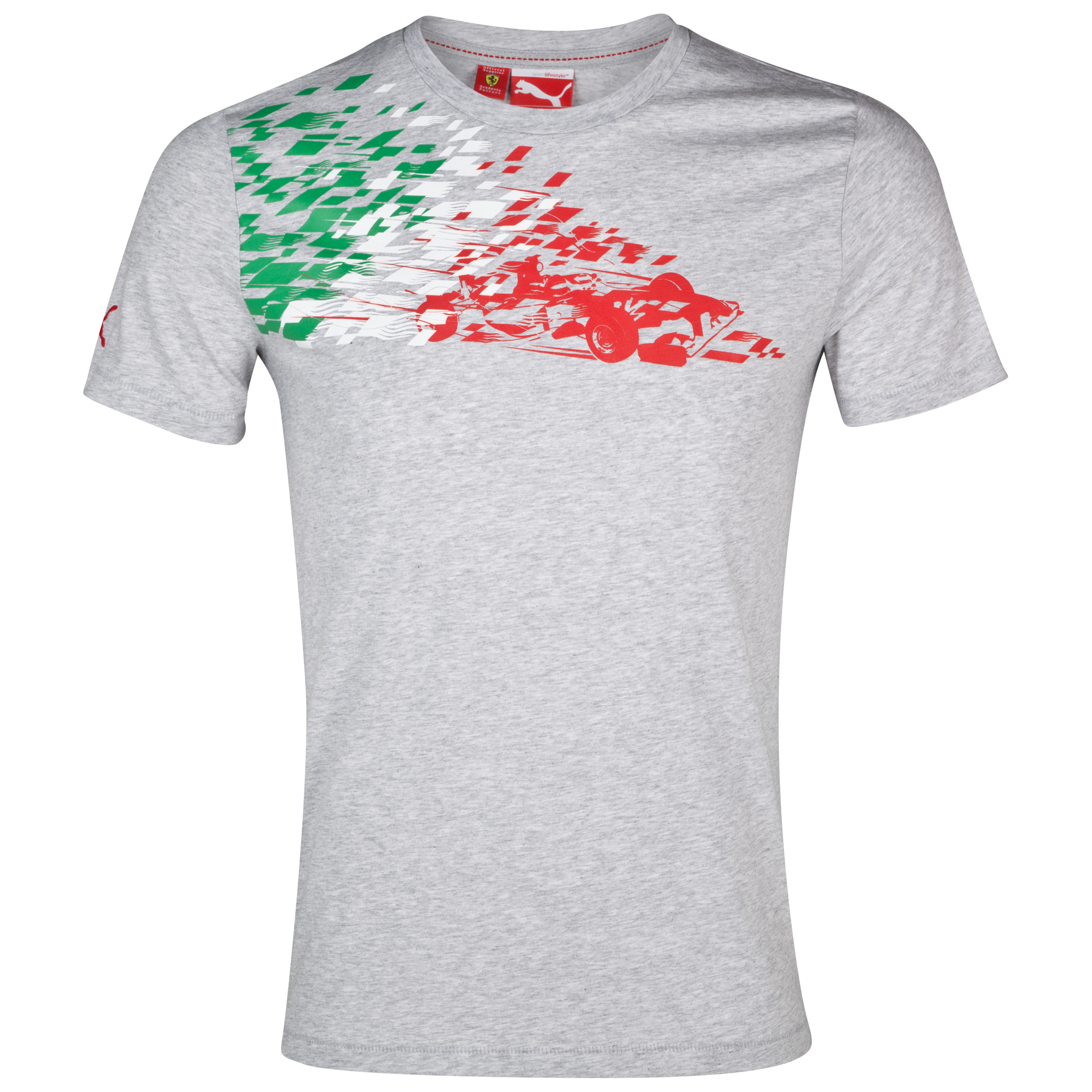 Scuderia Ferrari Graphic T-Shirt - Grey