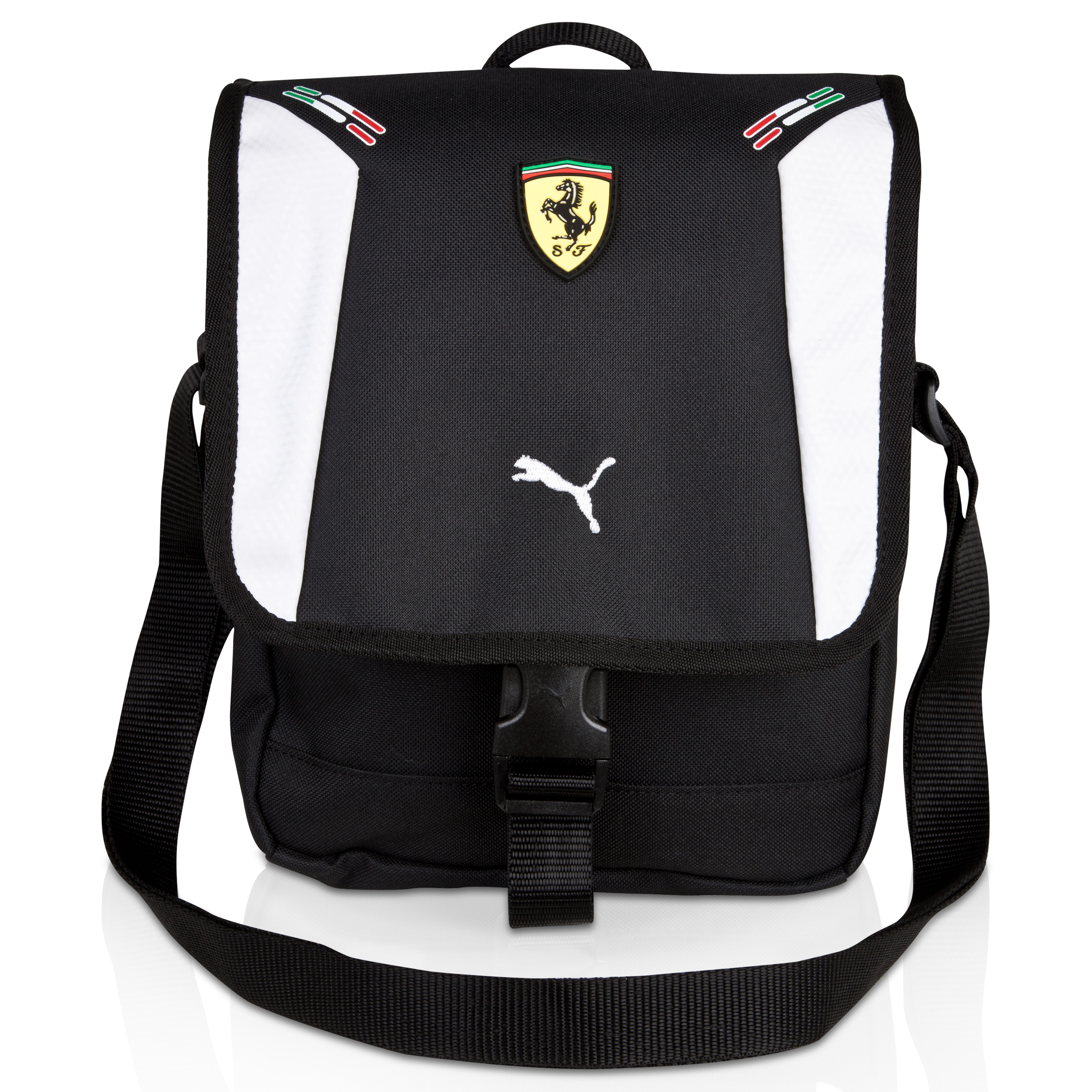 Scuderia Ferrari Replica Portable - Black/White
