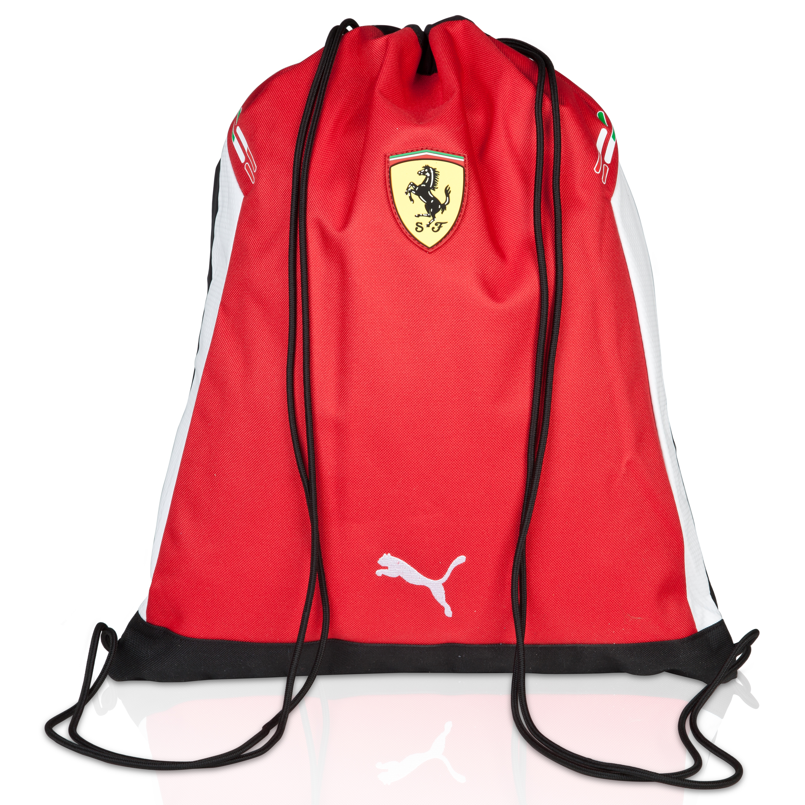 Scuderia Ferrari Replica Gym Sack - Rosso Corsa/White/Black